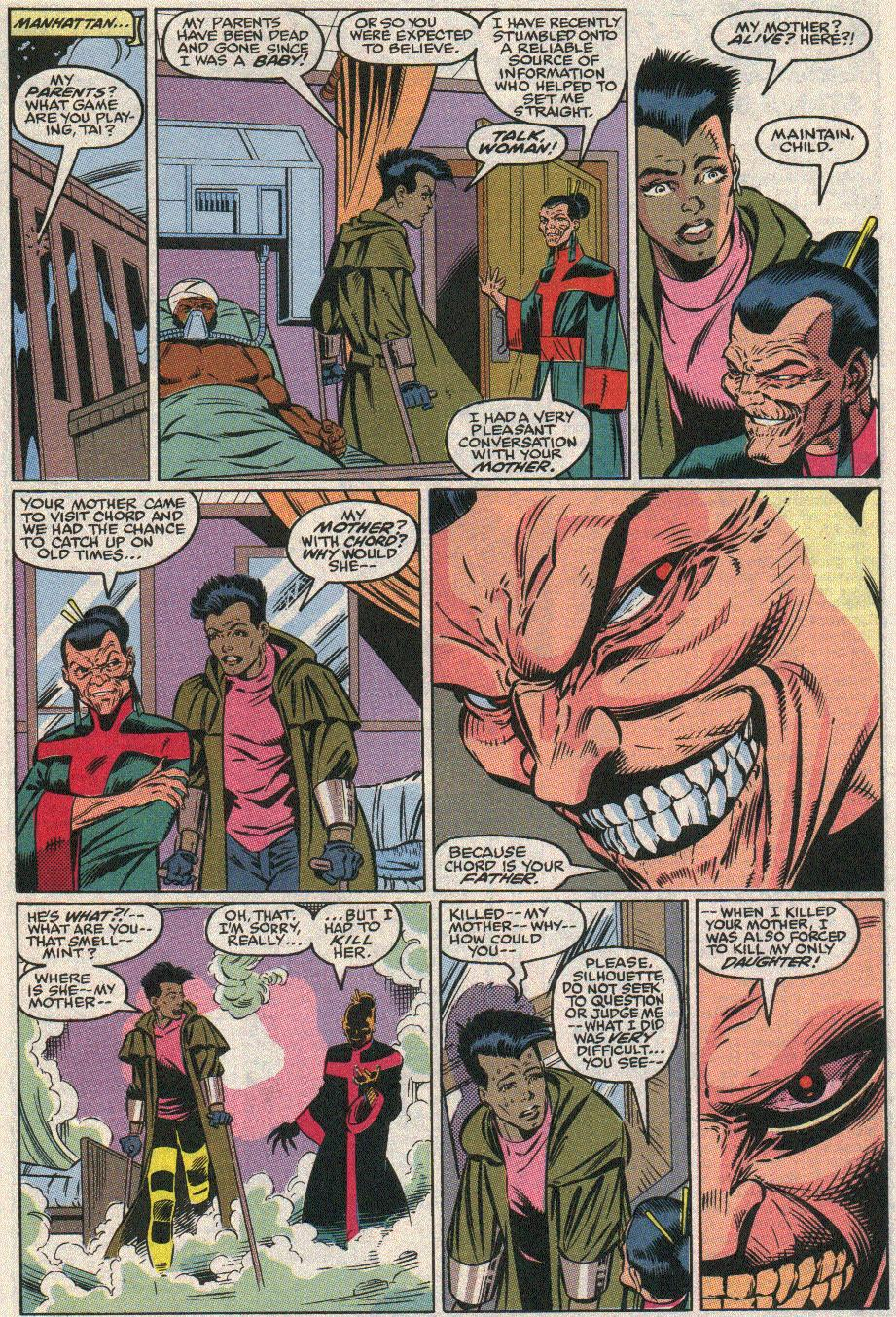 The New Warriors Issue #21 #25 - English 17