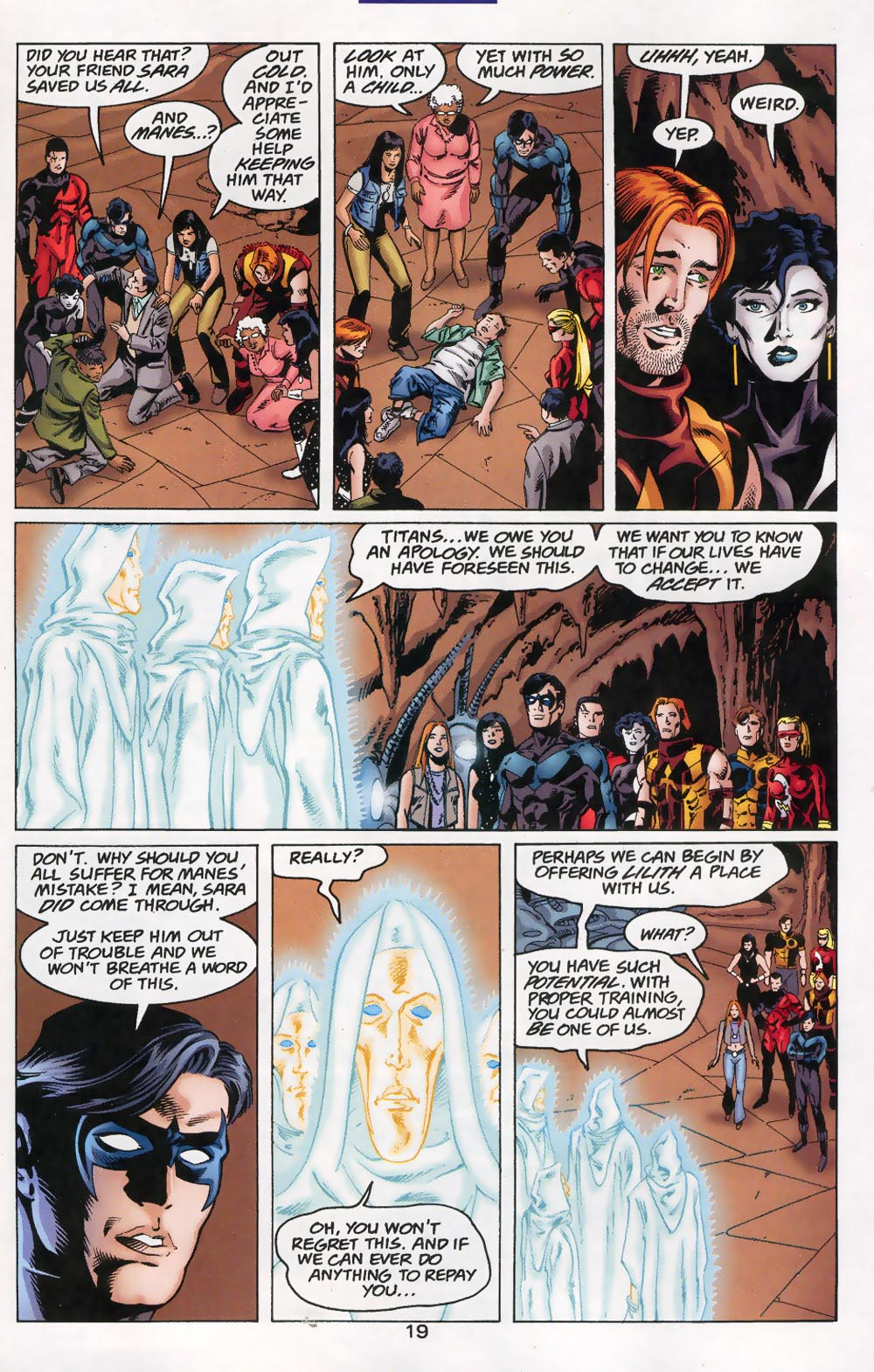 Read online The Titans (1999) comic -  Issue #46 - 20
