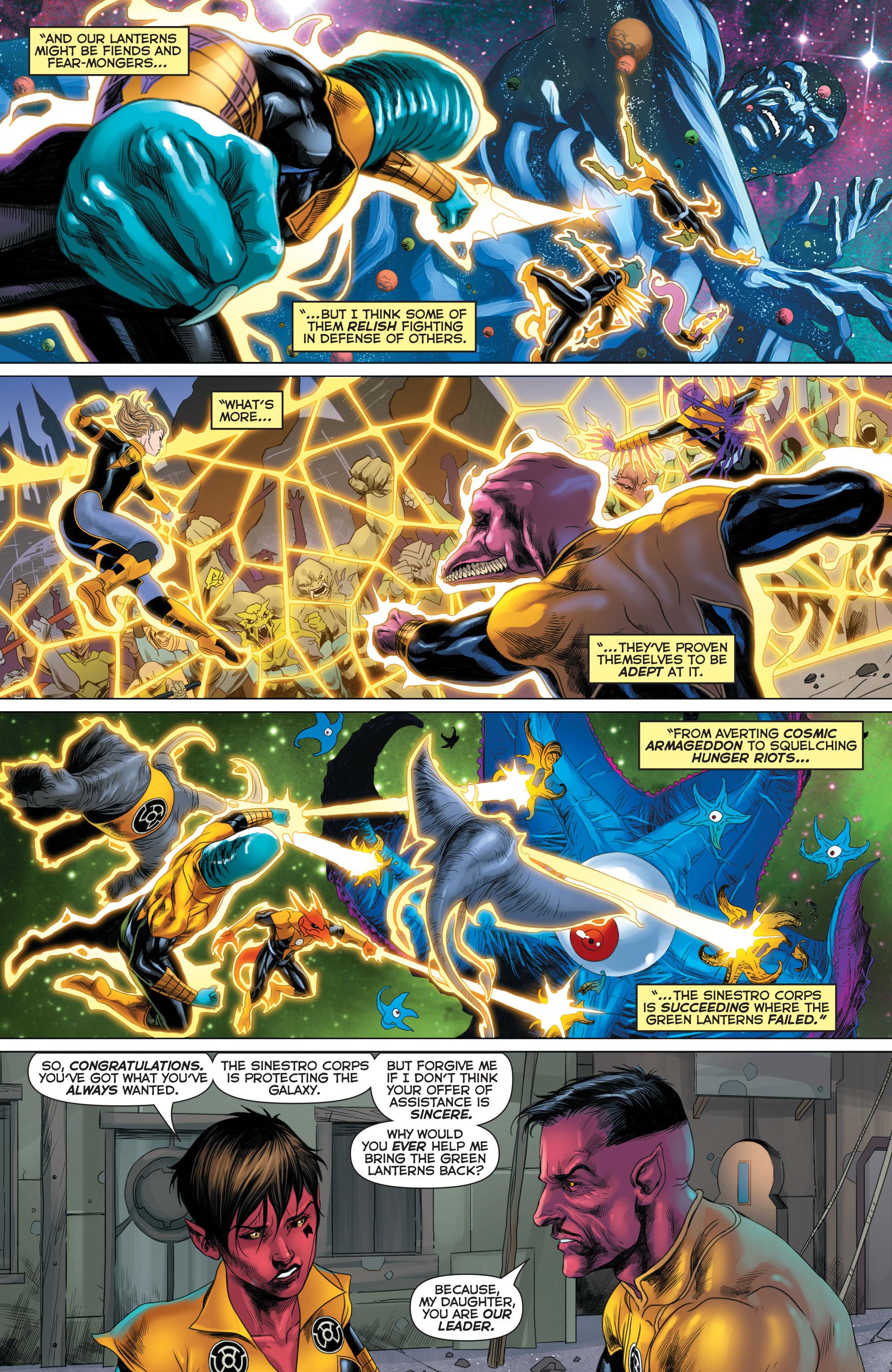 Read online Sinestro comic -  Issue #22 - 17