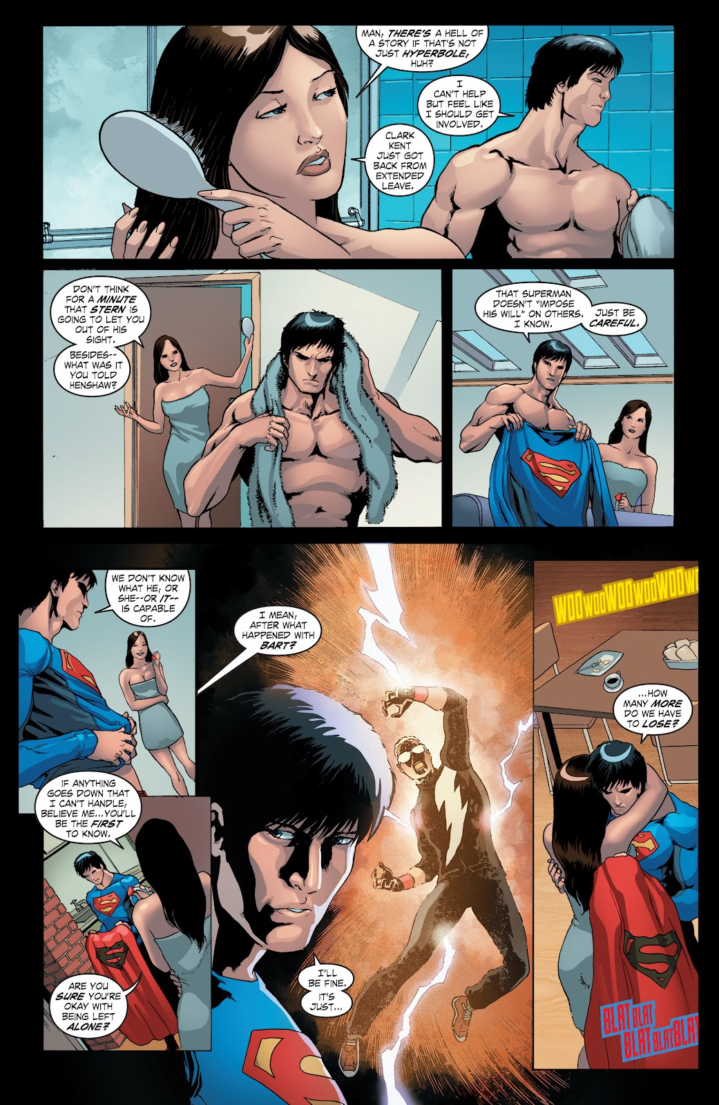 Read online Smallville Season 11 [II] comic -  Issue # TPB 4 - 12