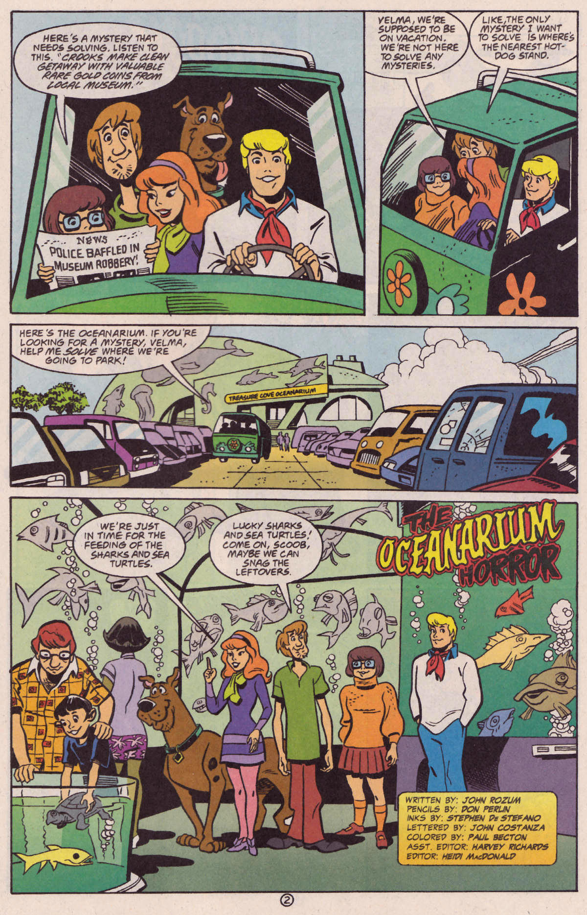 Read online Scooby-Doo (1997) comic -  Issue #29 - 13