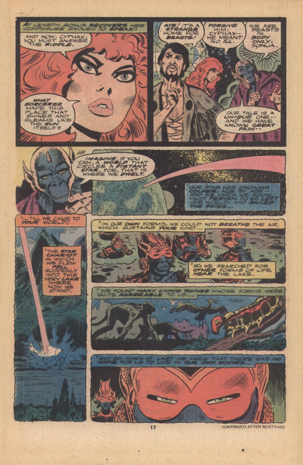 Red Sonja (1977) issue 4 - Page 12