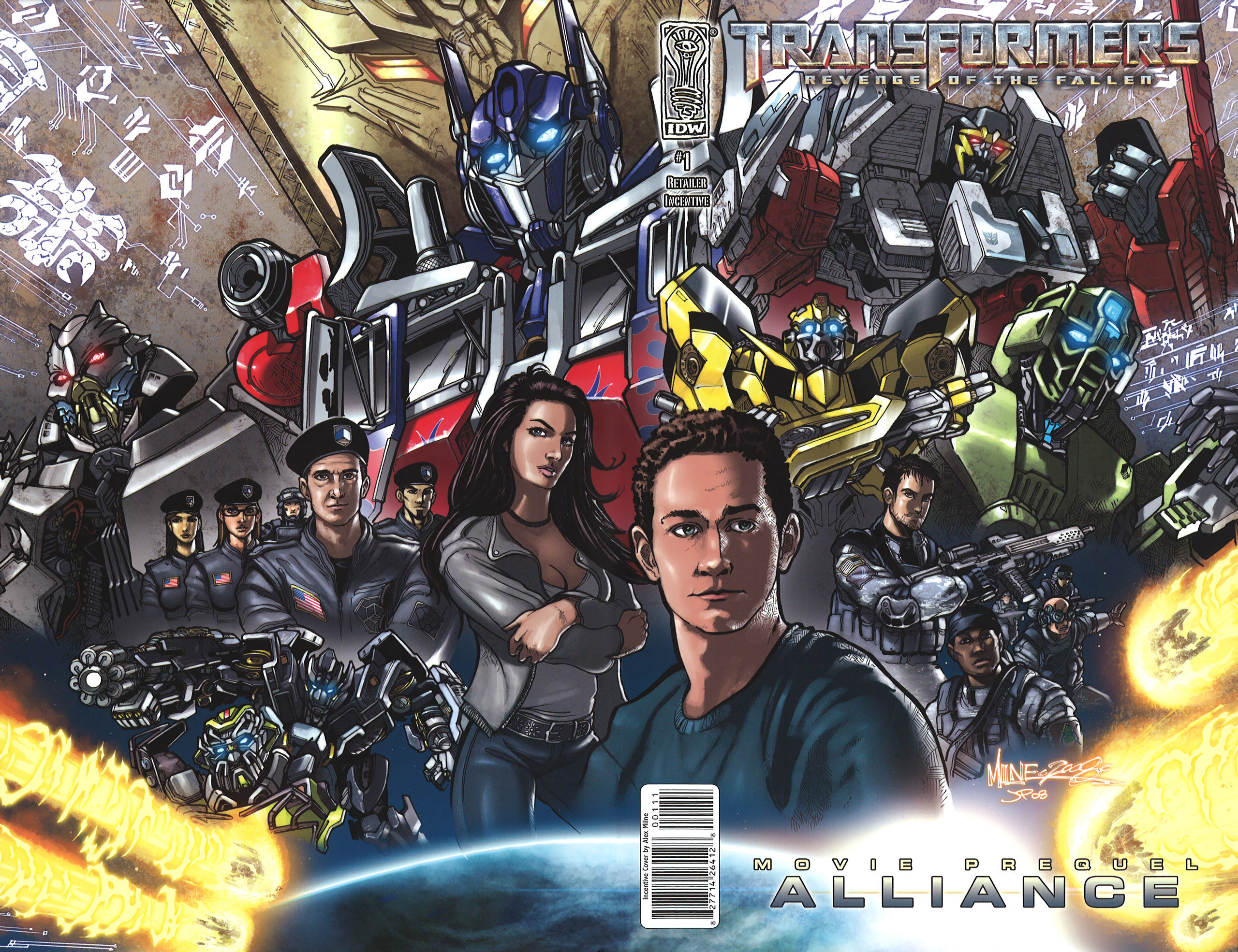 Read online Transformers: Alliance comic -  Issue #1 - 2