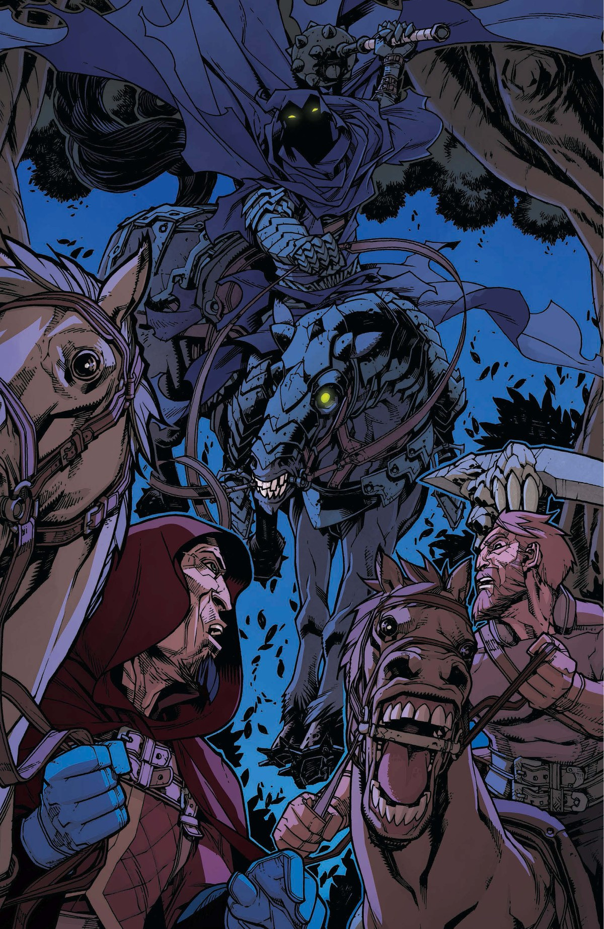 Read online World of Warcraft: Dark Riders comic -  Issue # Full - 95