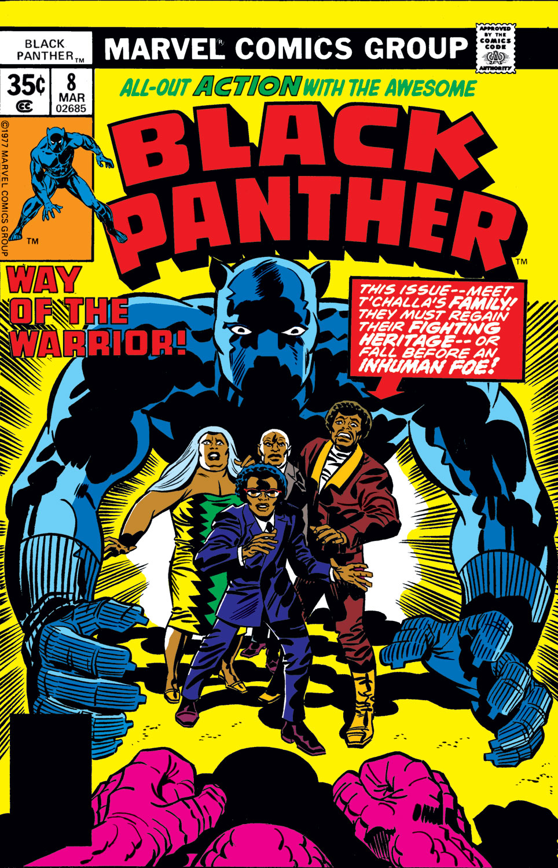 Black Panther (1977) 8 Page 1