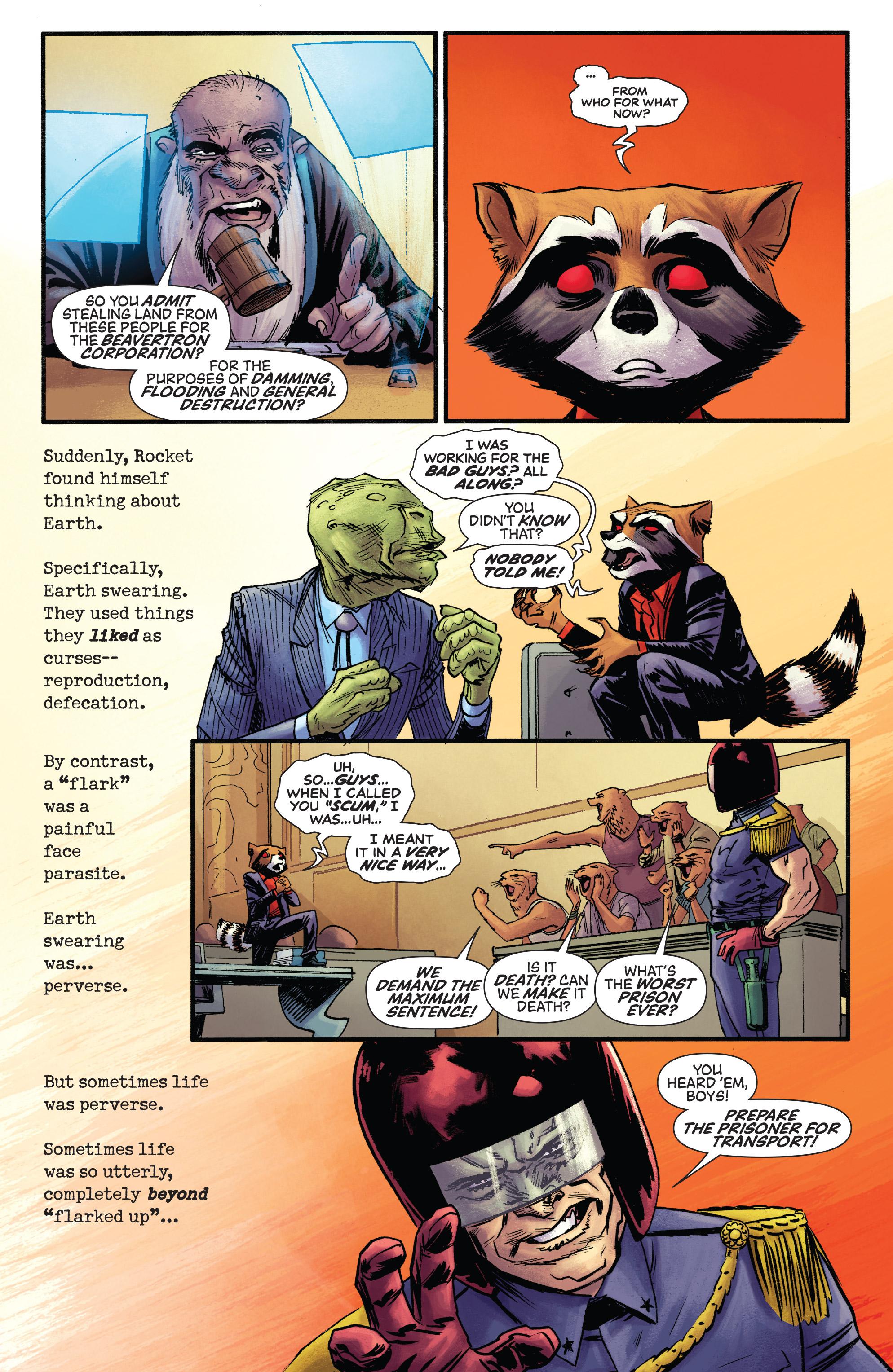 Read online Rocket comic -  Issue #2 - 20