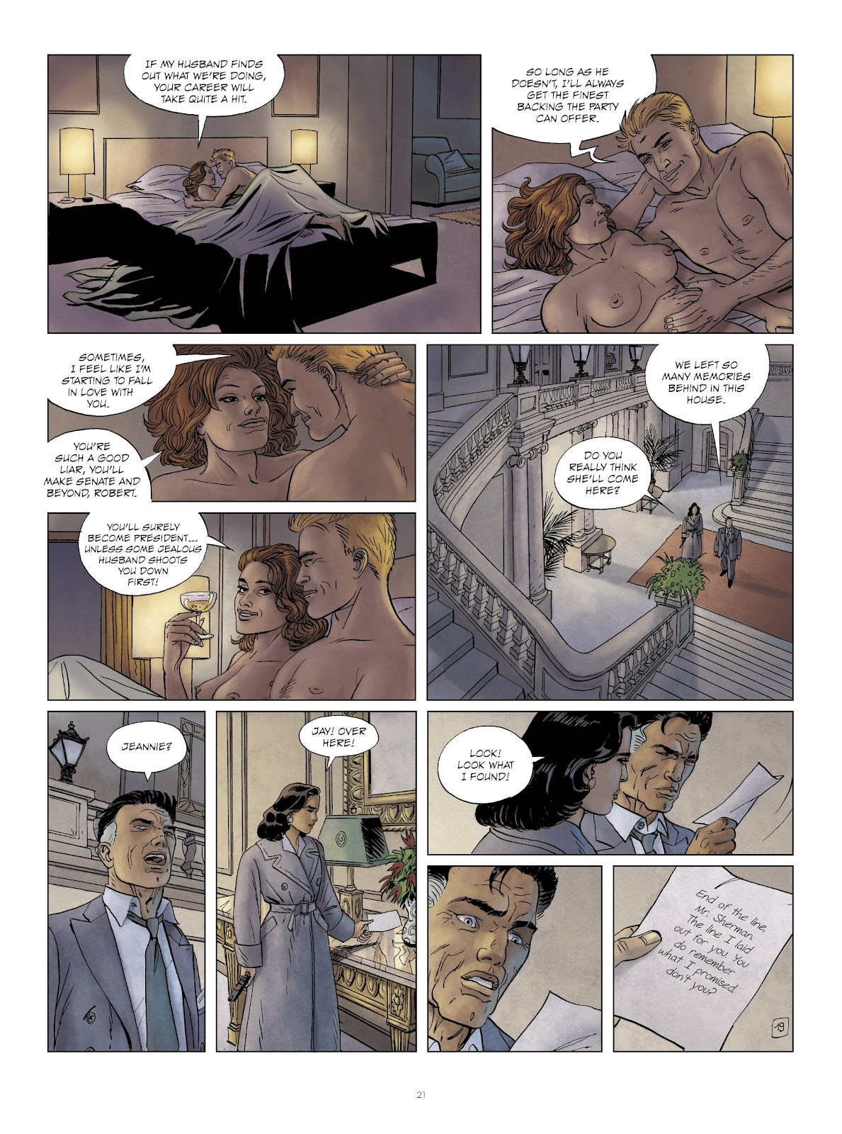 Read online Sherman comic -  Issue #6 - 21