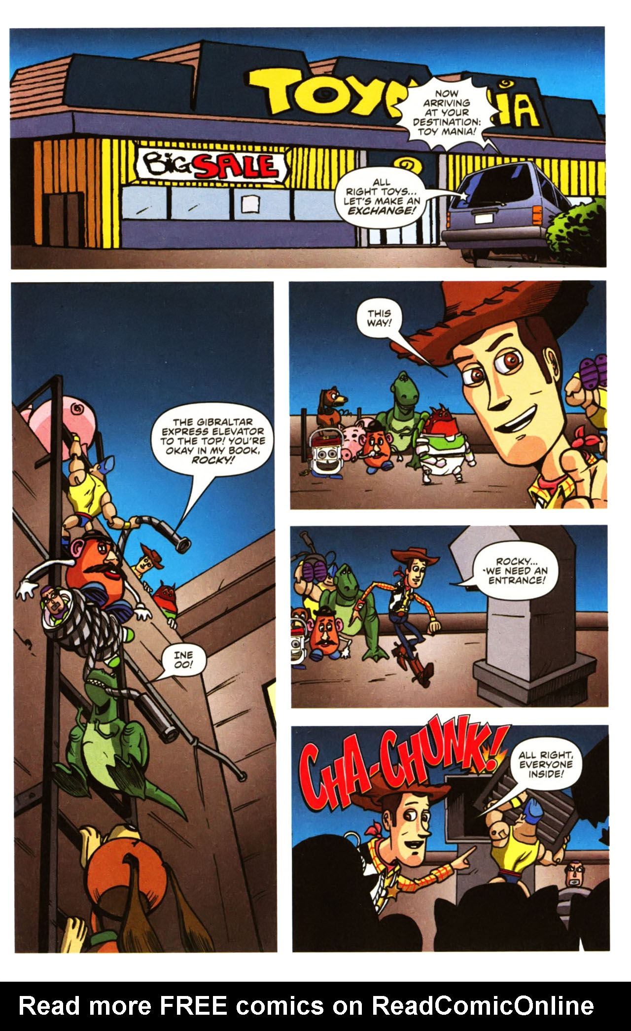 Read online Toy Story (2009) comic -  Issue #1 - 19