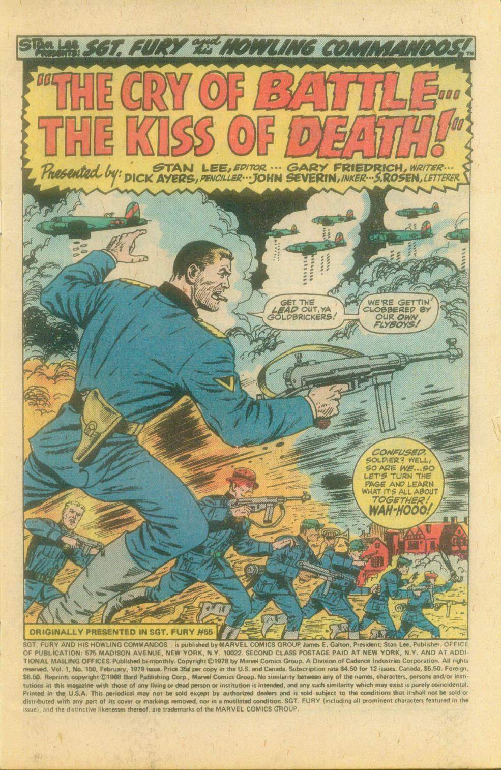 Read online Sgt. Fury comic -  Issue #150 - 3