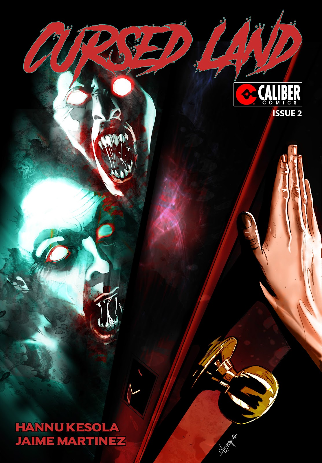 Read online Cursed Land comic -  Issue #2 - 1