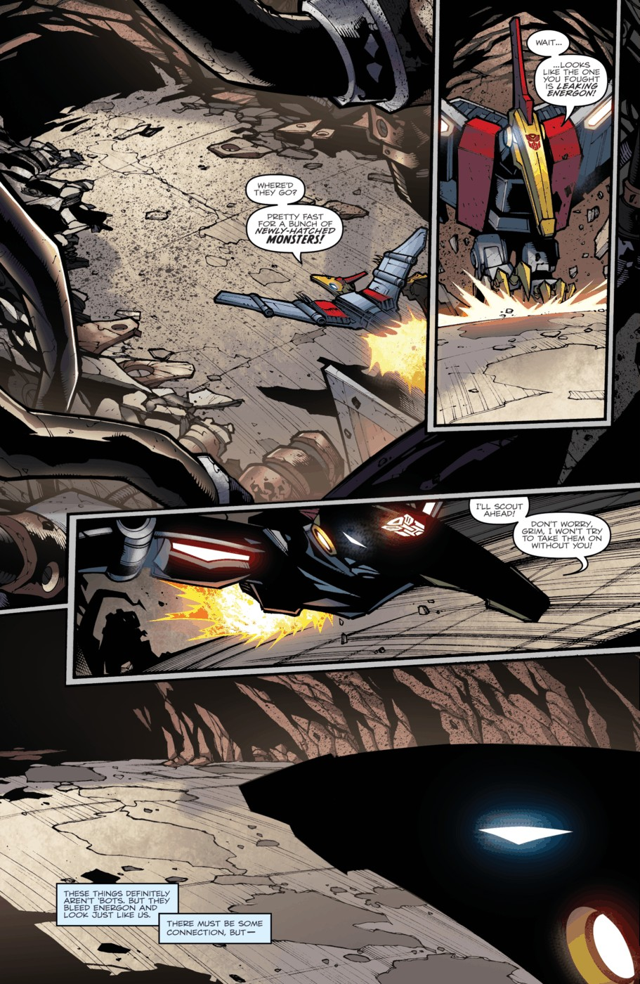 Read online Transformers Prime: Beast Hunters comic -  Issue #4 - 10