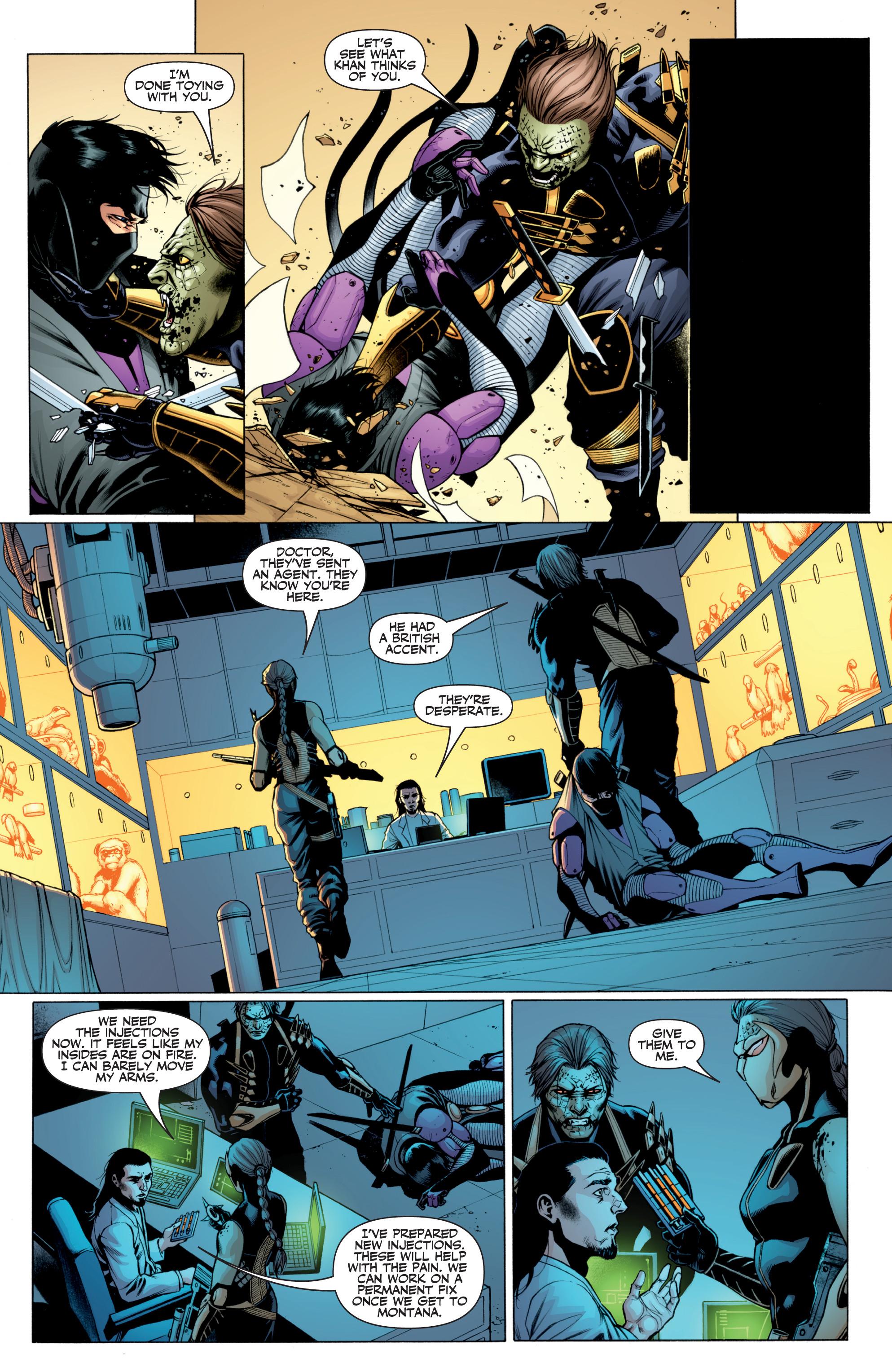 Read online Ninjak (2015) comic -  Issue #27 - 14
