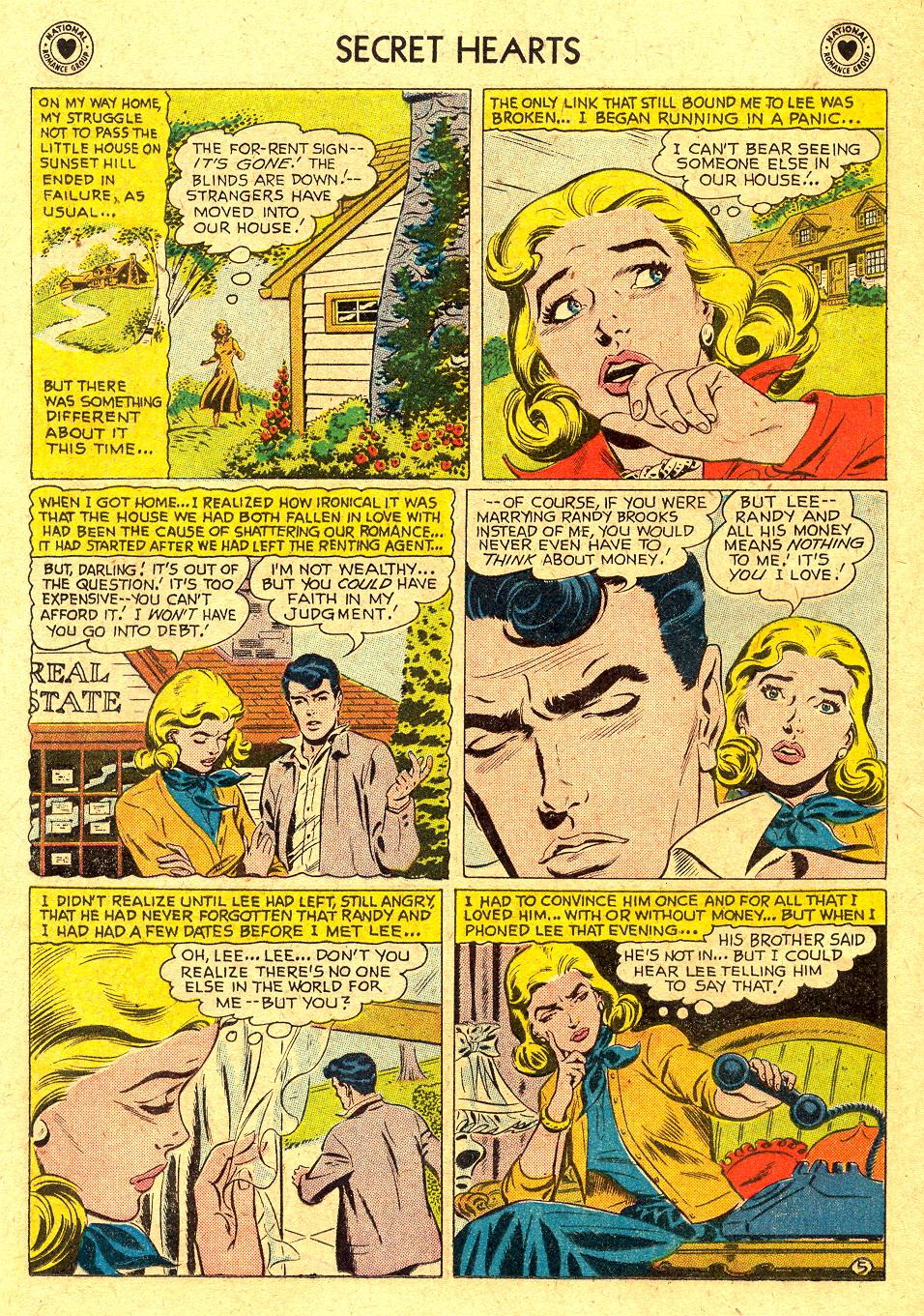 Read online Secret Hearts comic -  Issue #45 - 14