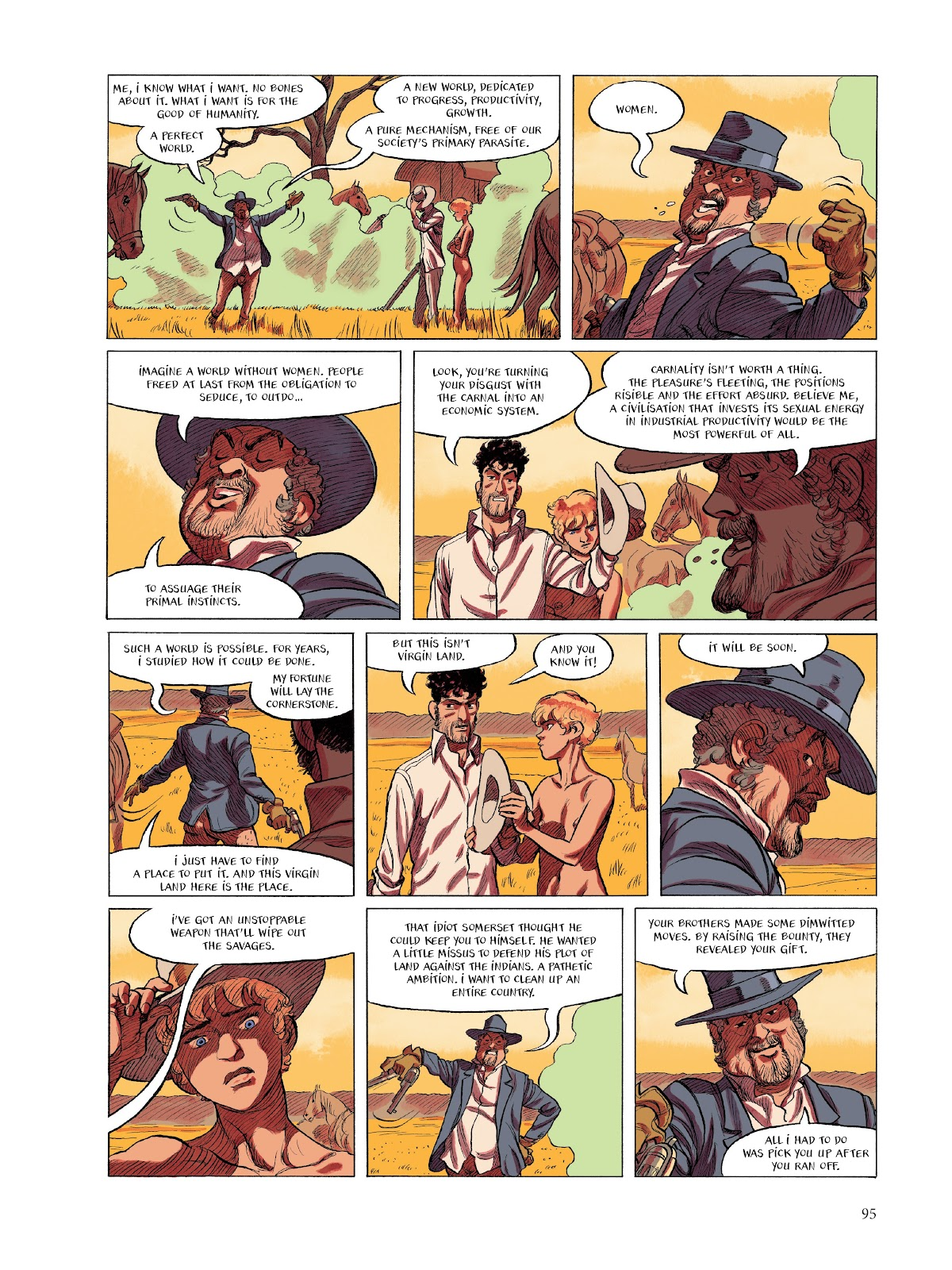 Read online The Smell of Starving Boys comic -  Issue # TPB - 96