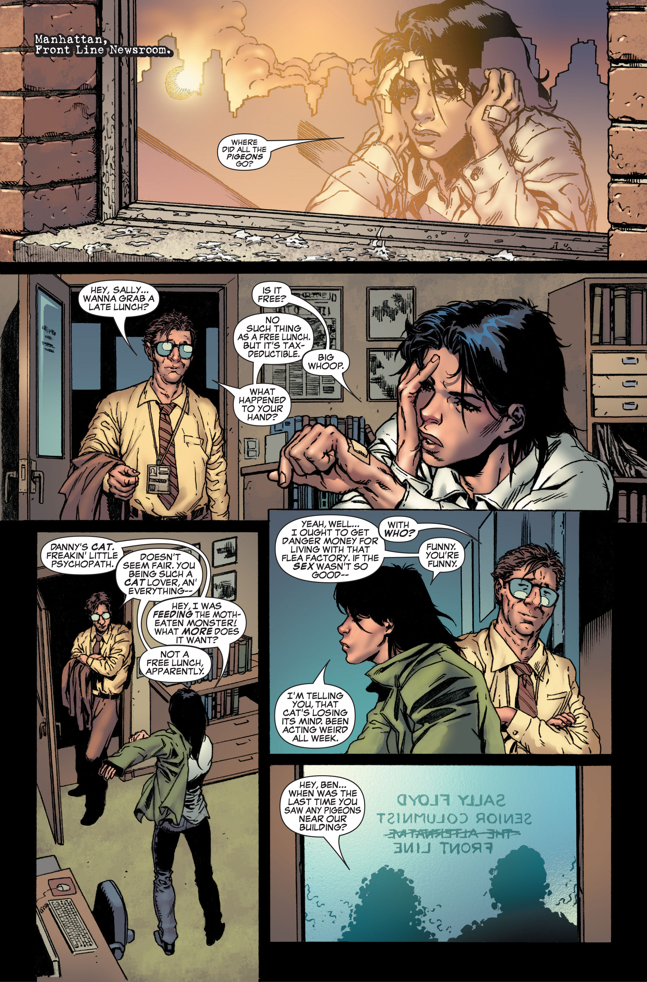 Read online World War Hulk: Front Line comic -  Issue #1 - 3