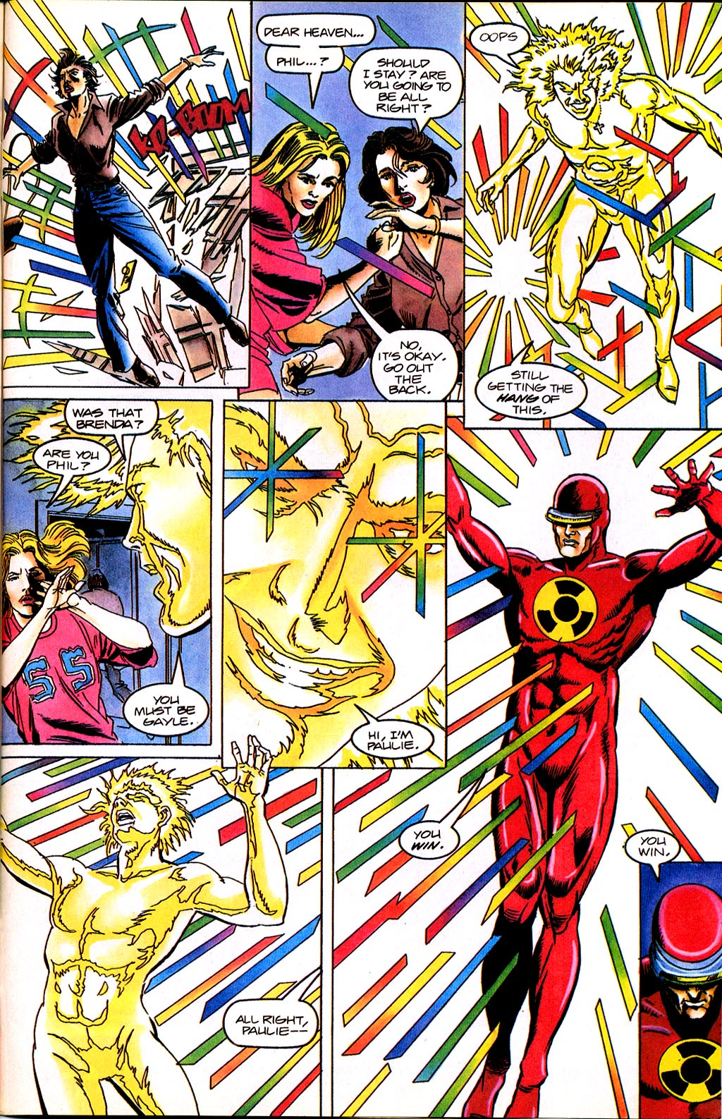 Read online Solar, Man of the Atom comic -  Issue #45 - 25