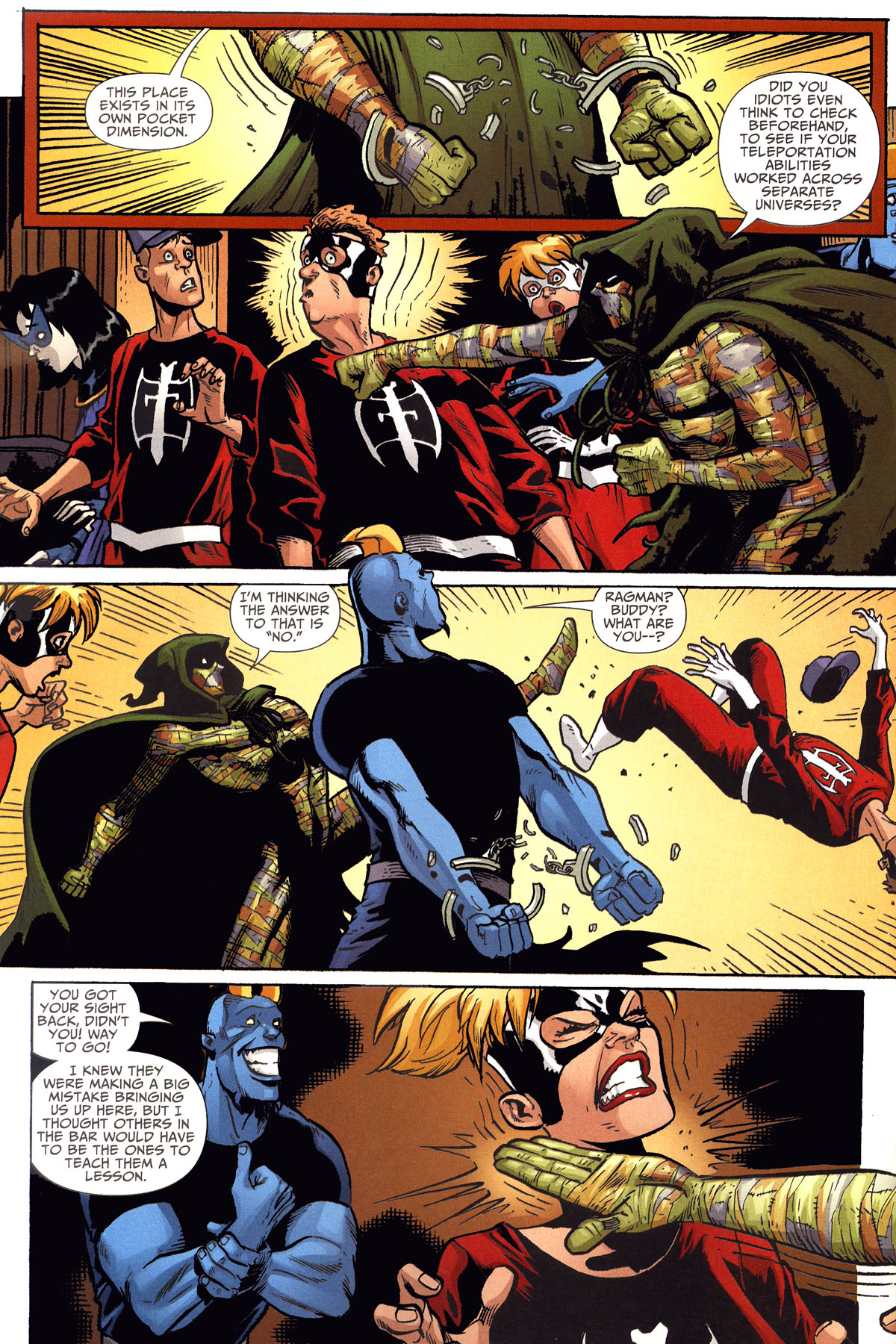 Read online Shadowpact comic -  Issue #8 - 20