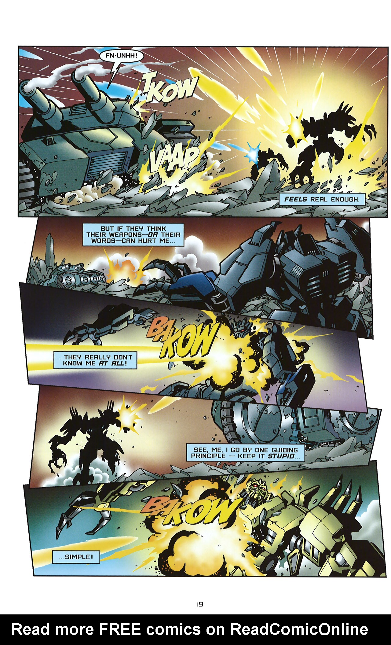 Read online Transformers: Saga of the Allspark comic -  Issue #2 - 22