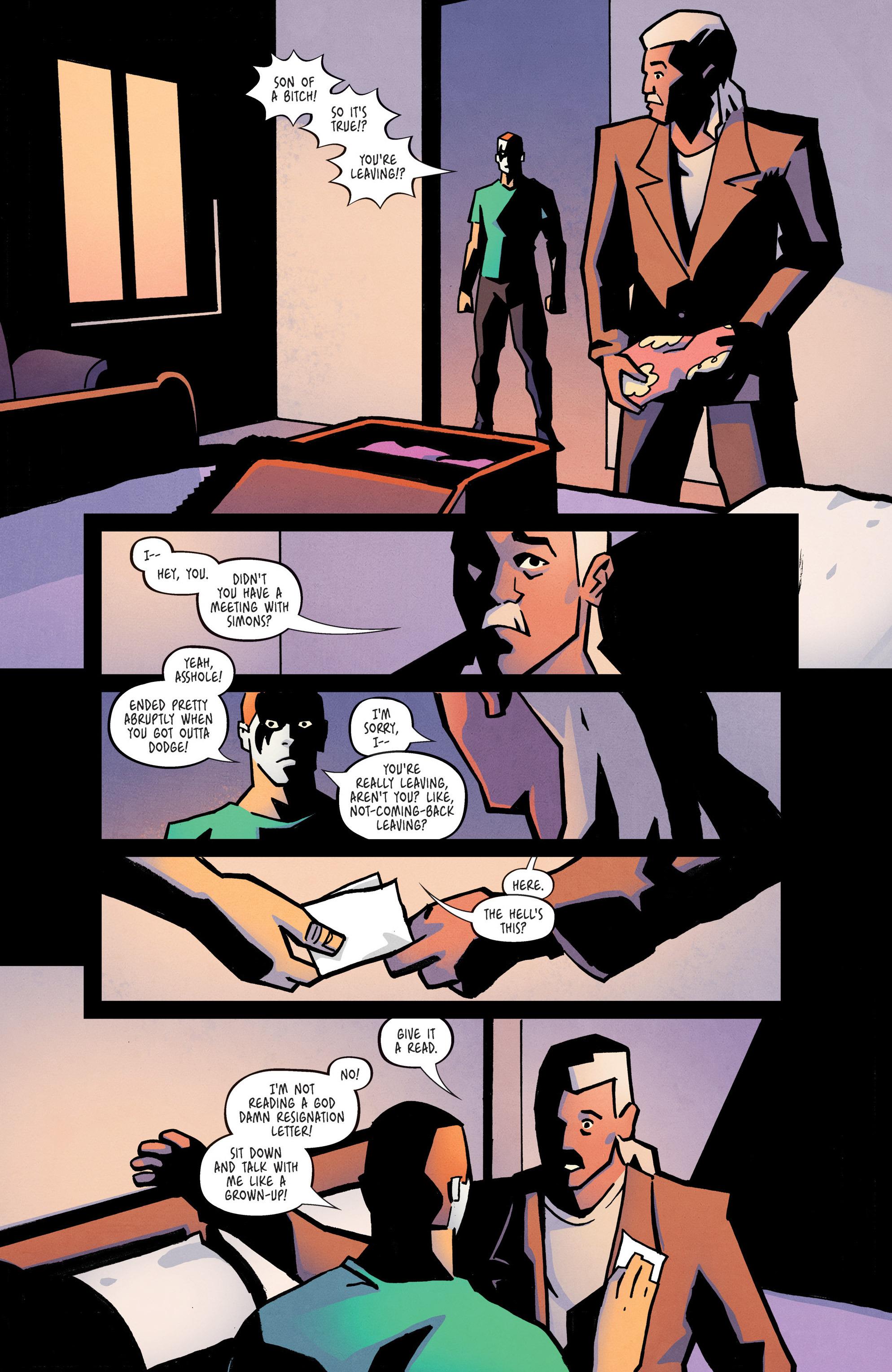 Read online Ringside comic -  Issue #10 - 9