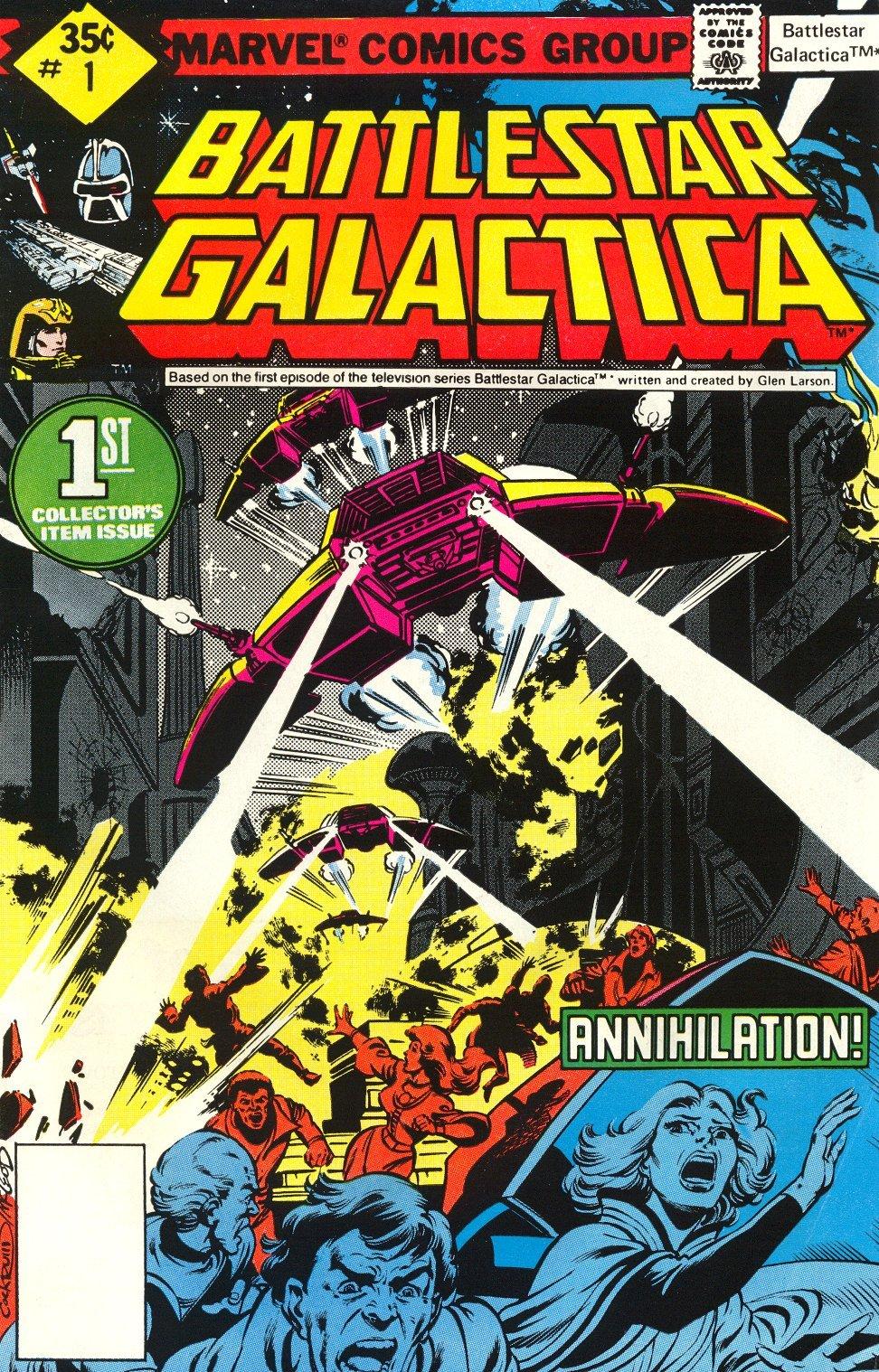 Battlestar Galactica 1 Page 1