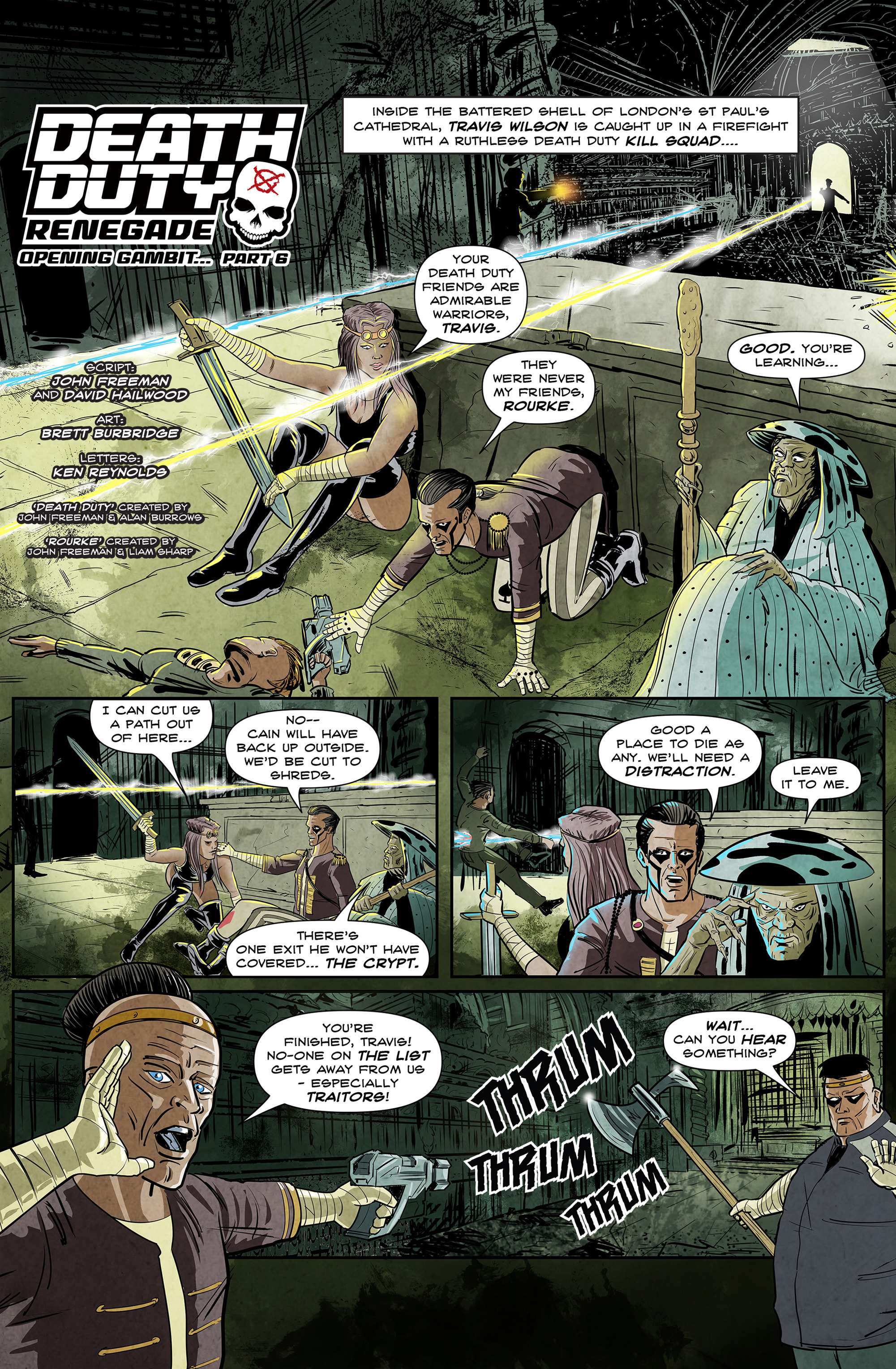 Read online 100% Biodegradable comic -  Issue #12 - 17