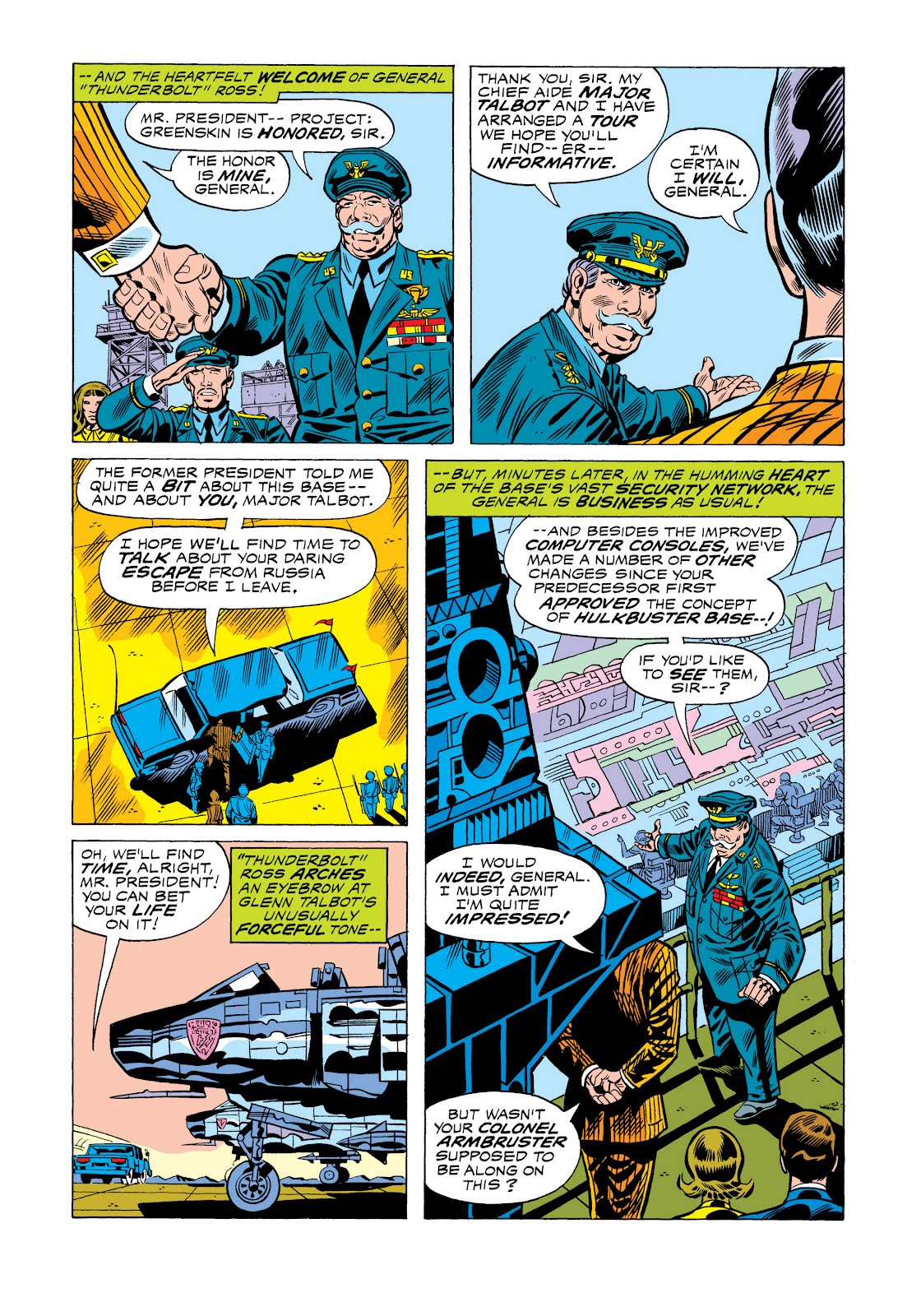 Read online Marvel Masterworks: The Incredible Hulk comic -  Issue # TPB 11 (Part 1) - 31