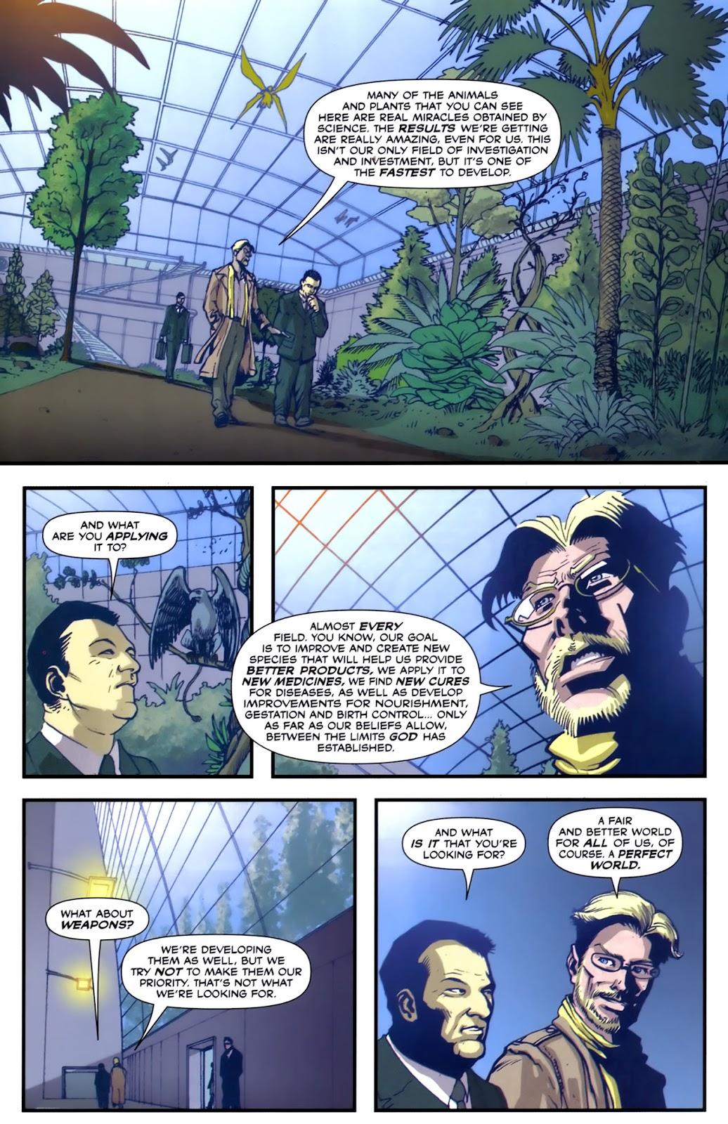 Read online Lazarus (2007) comic -  Issue #2 - 18