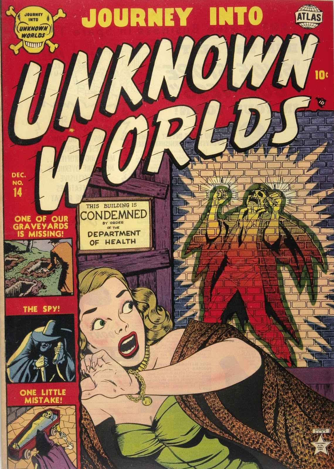 Journey Into Unknown Worlds (1950) issue 14 - Page 1