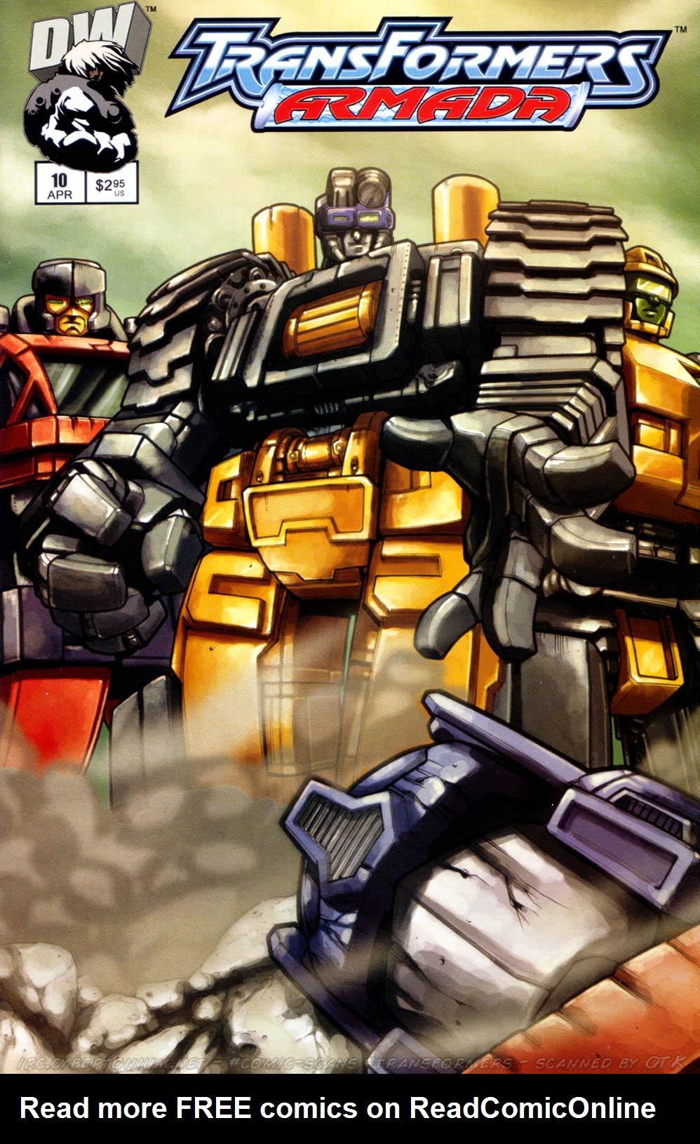 Read online Transformers Armada comic -  Issue #10 - 1
