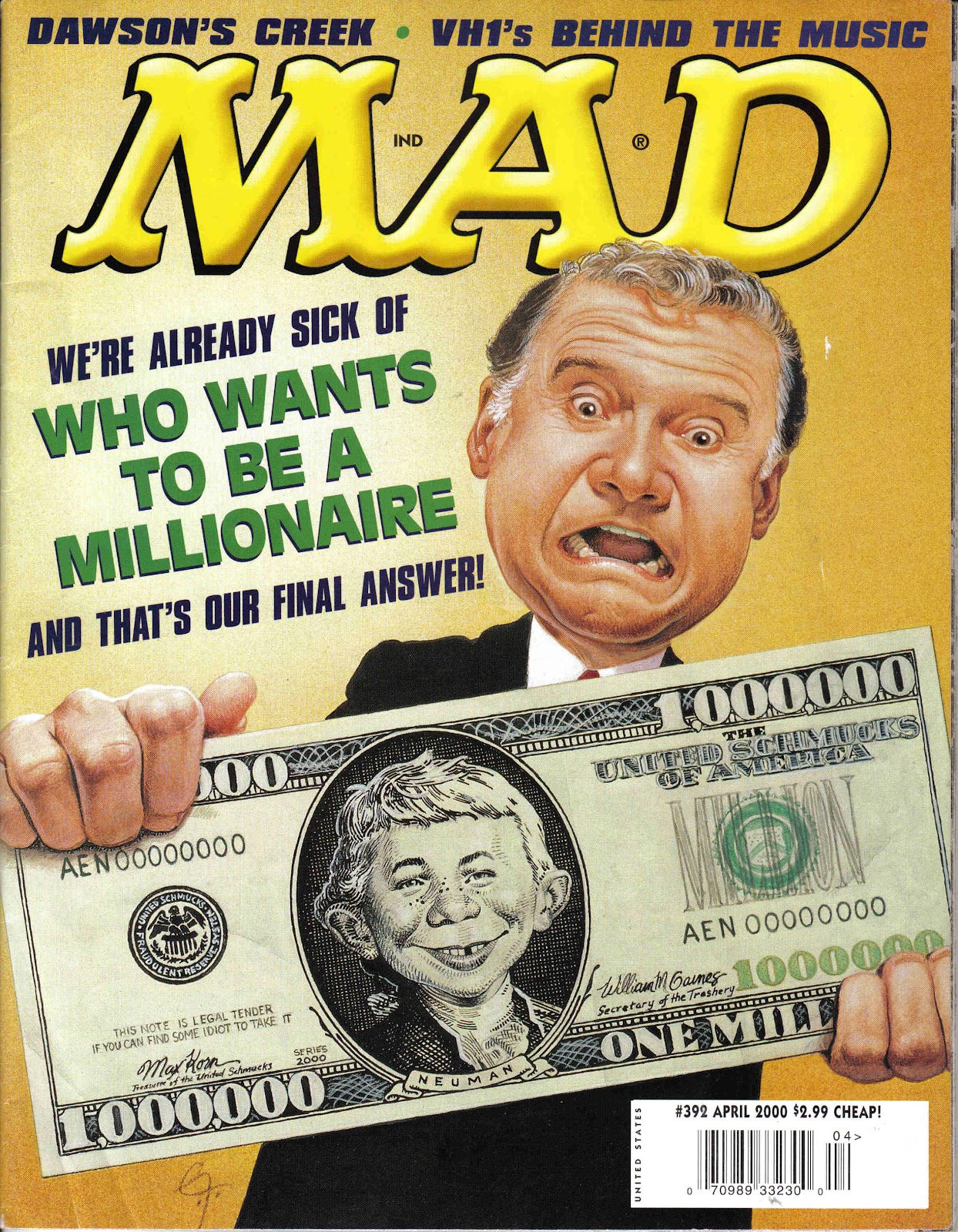 MAD issue 392 - Page 1