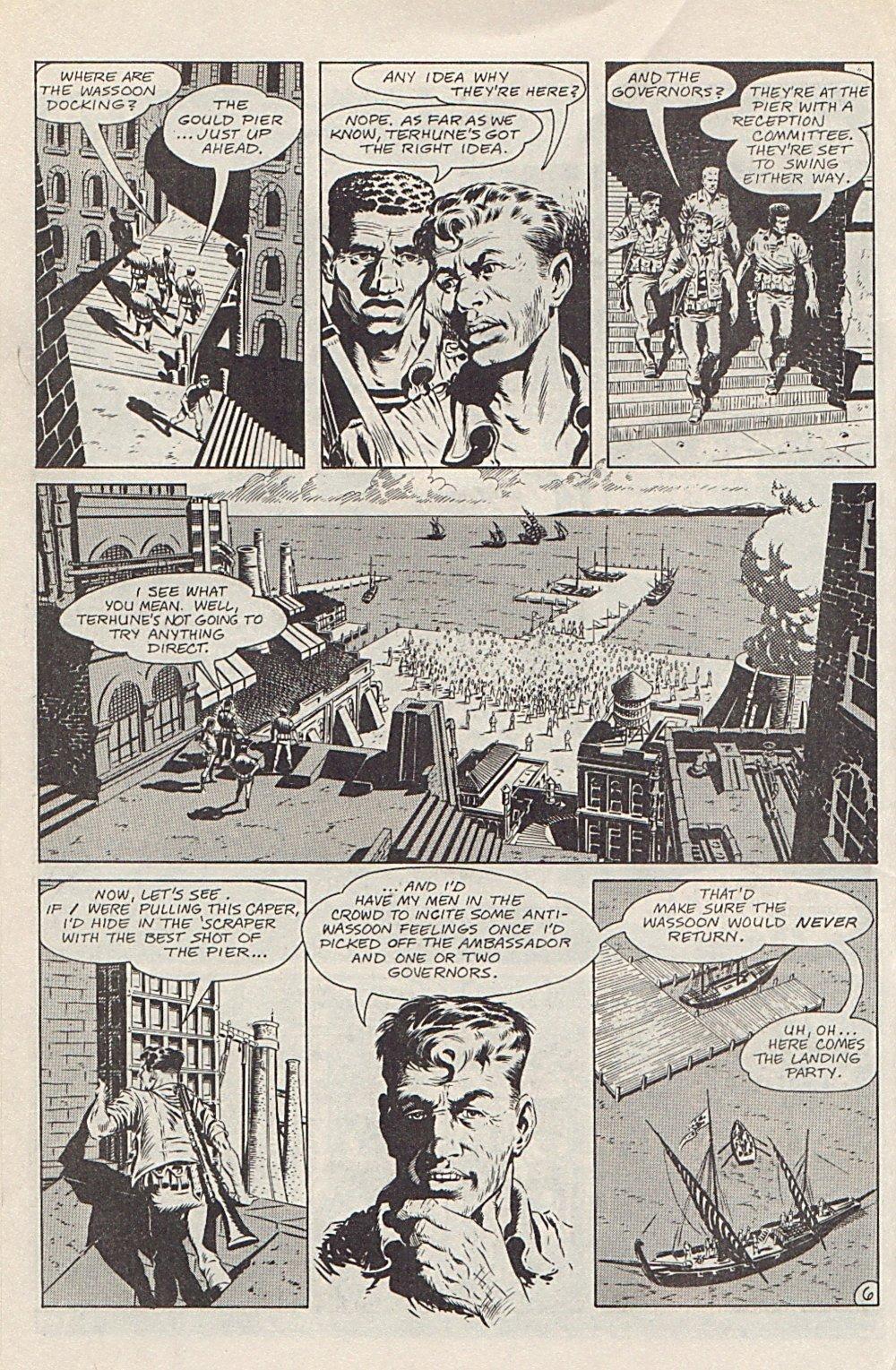 Read online Xenozoic Tales comic -  Issue #1 - 9