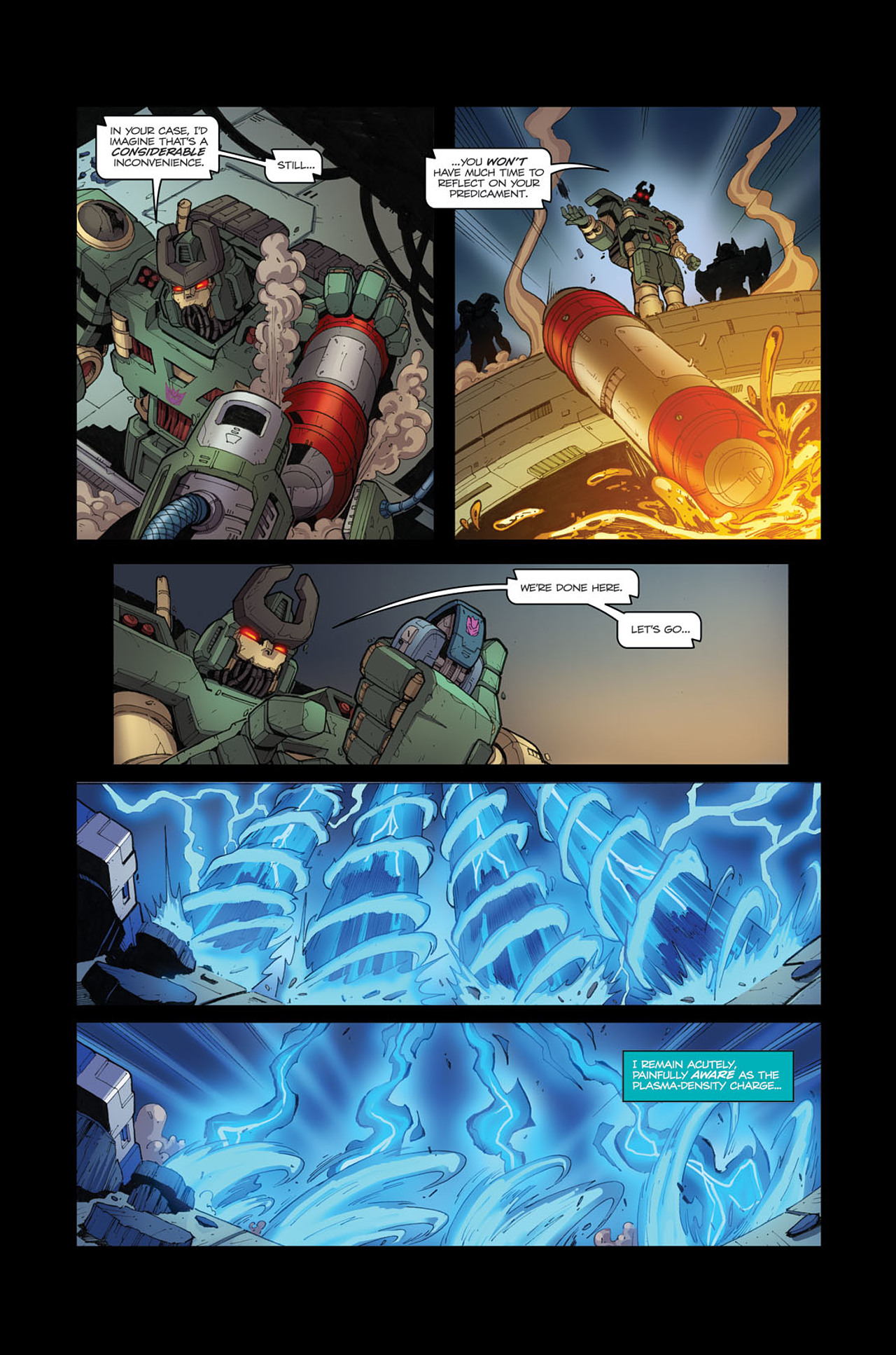 Read online Transformers Spotlight: Soundwave comic -  Issue # Full - 22