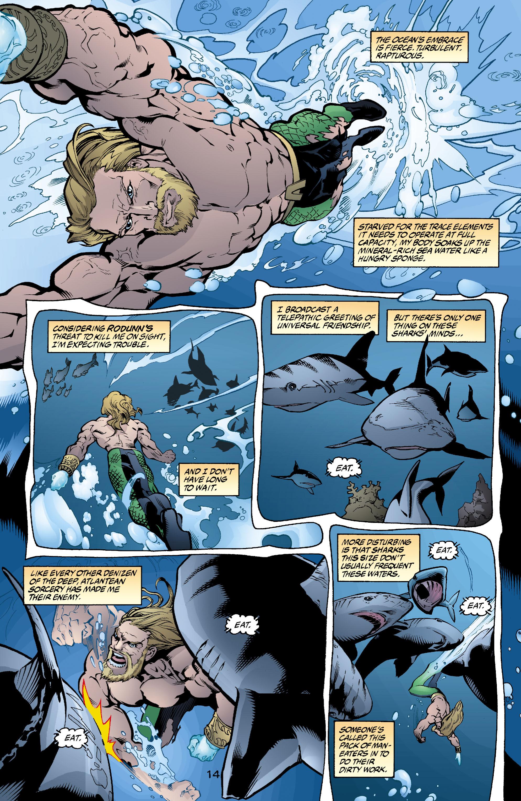 Read online Aquaman (2003) comic -  Issue #2 - 15