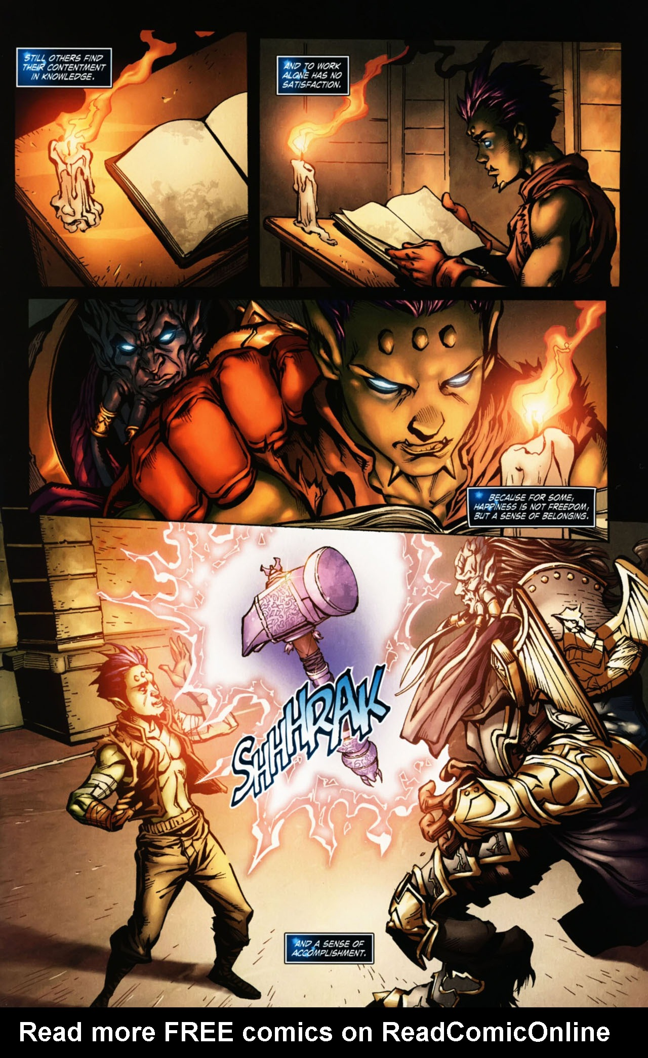 Read online World of Warcraft Special comic -  Issue # Full - 10