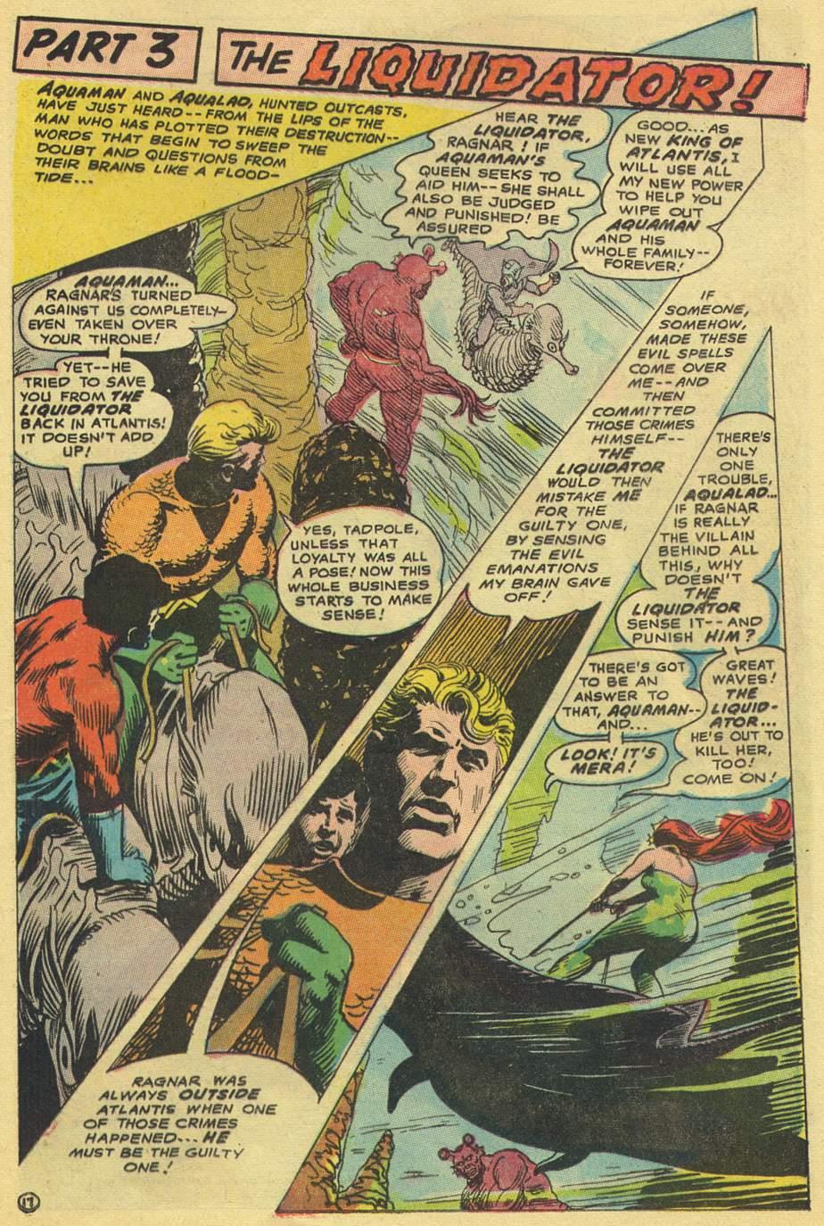 Read online Aquaman (1962) comic -  Issue #38 - 25