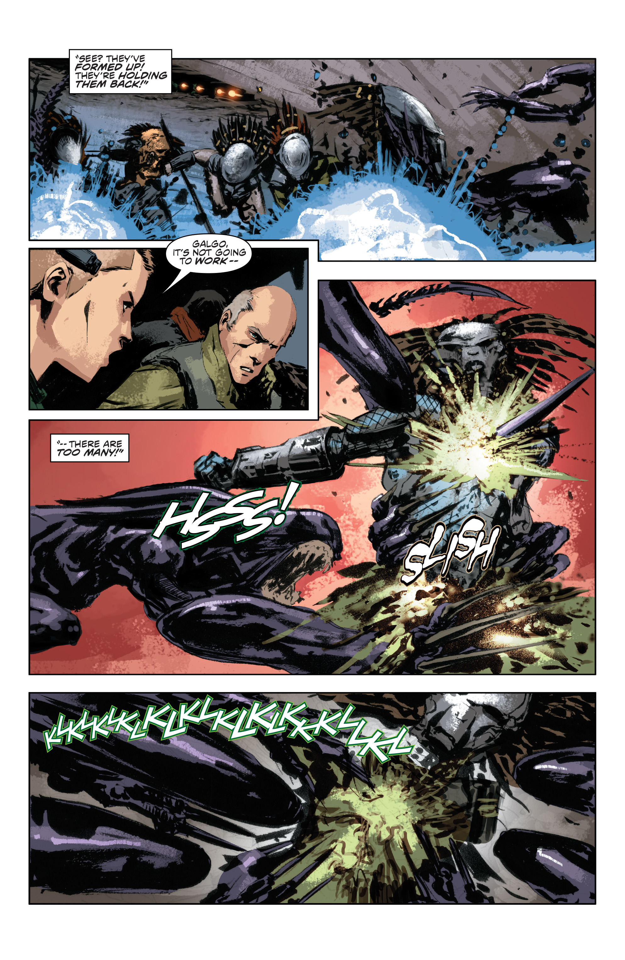 Read online Alien Vs. Predator: Life and Death comic -  Issue #3 - 21