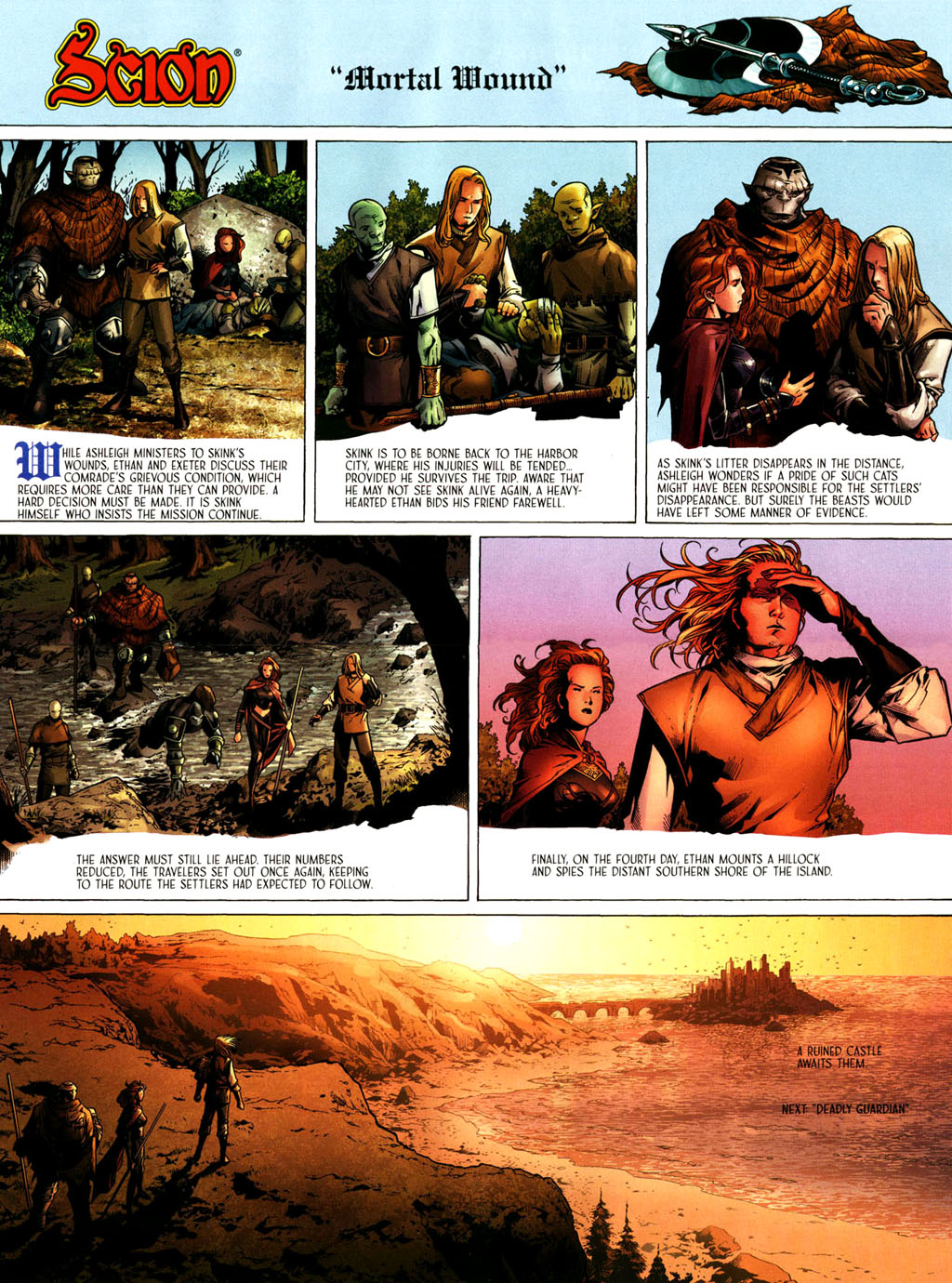 Read online Scion comic -  Issue #39 - 8