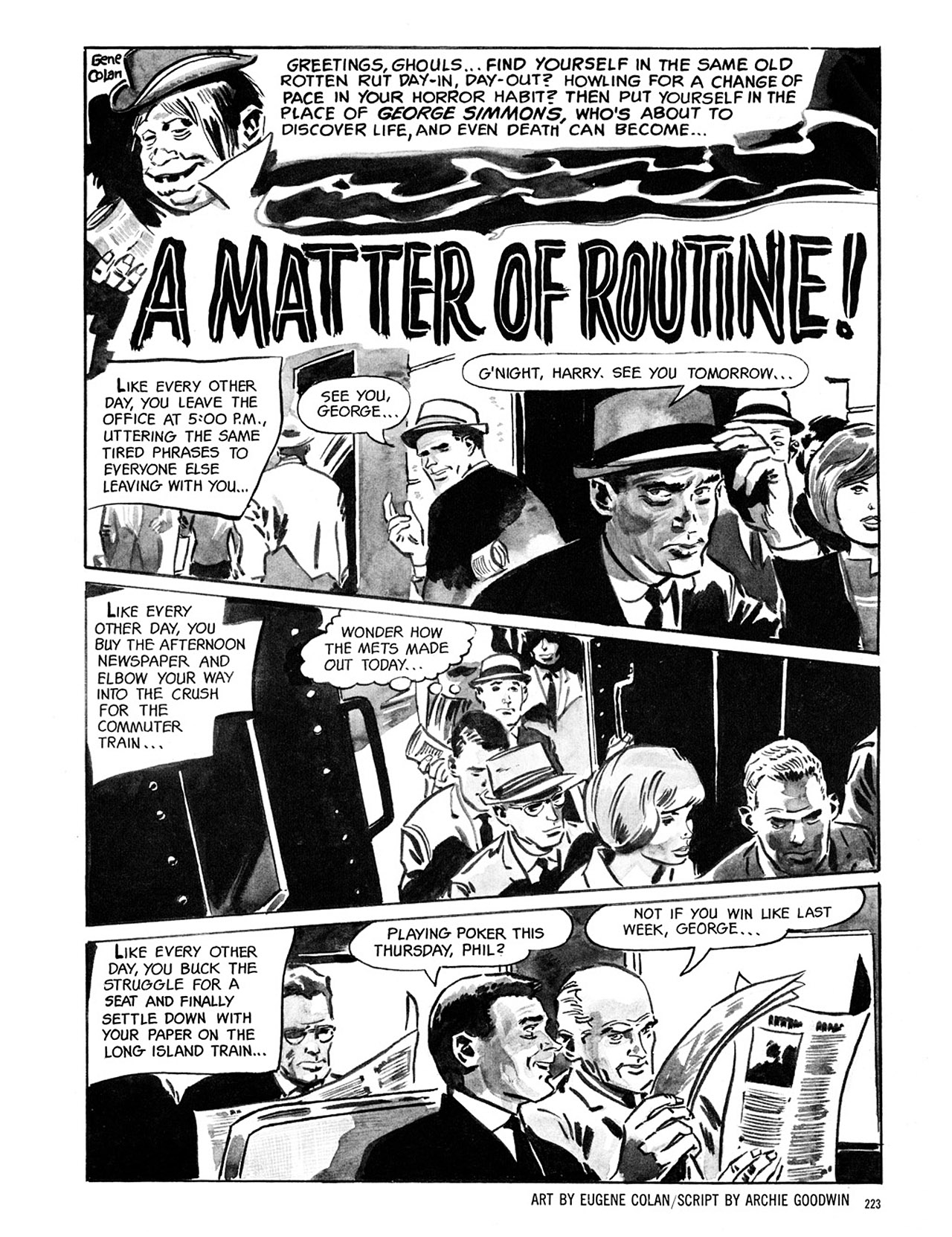 Read online Eerie Archives comic -  Issue # TPB 1 - 224