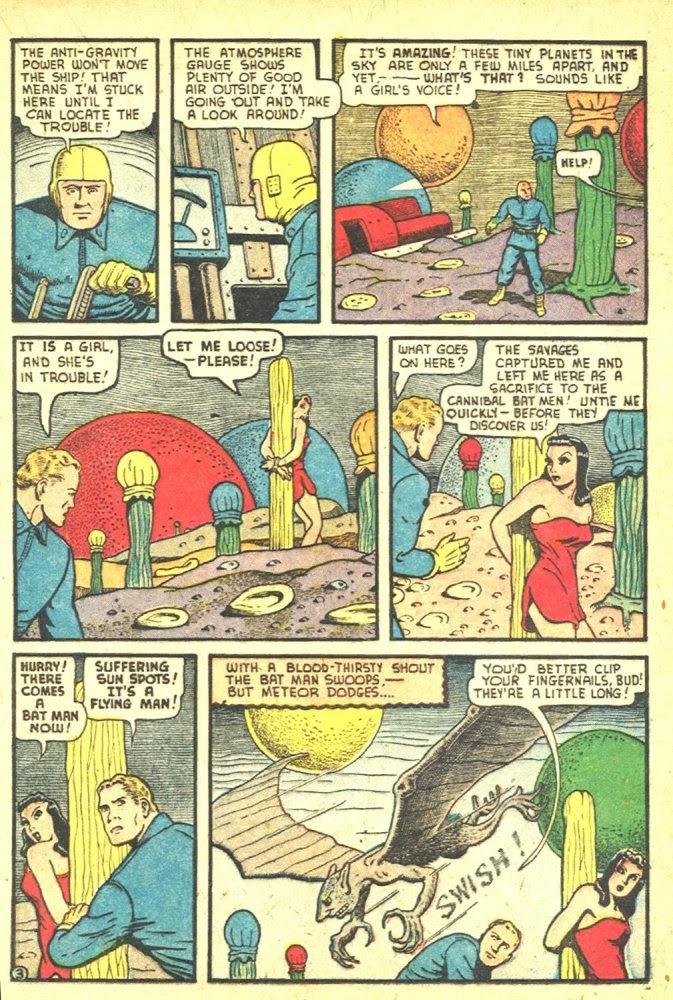 Read online Amazing Man Comics comic -  Issue #25 - 41