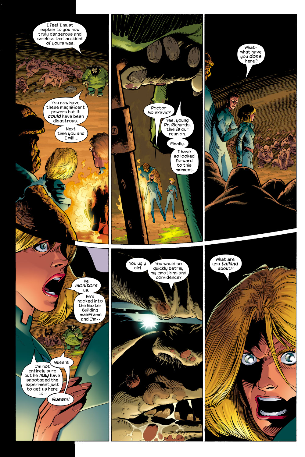 Read online Ultimate Fantastic Four (2004) comic -  Issue #6 - 4
