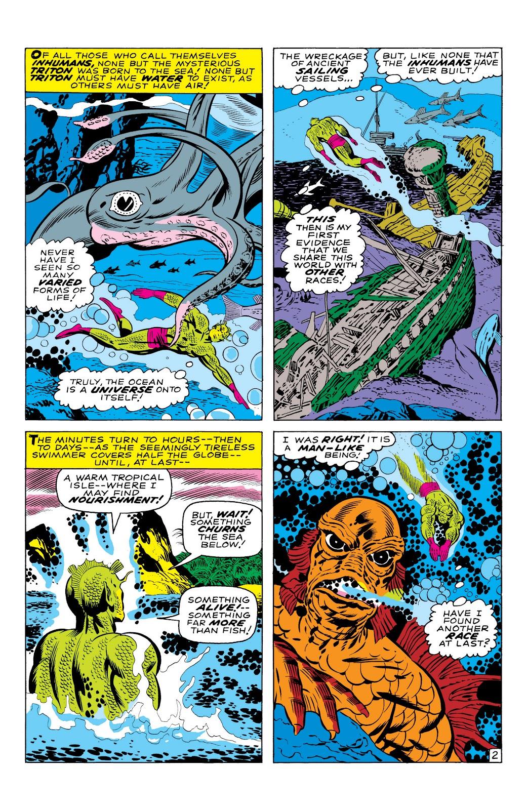Read online Marvel Masterworks: The Inhumans comic -  Issue # TPB 1 (Part 1) - 29