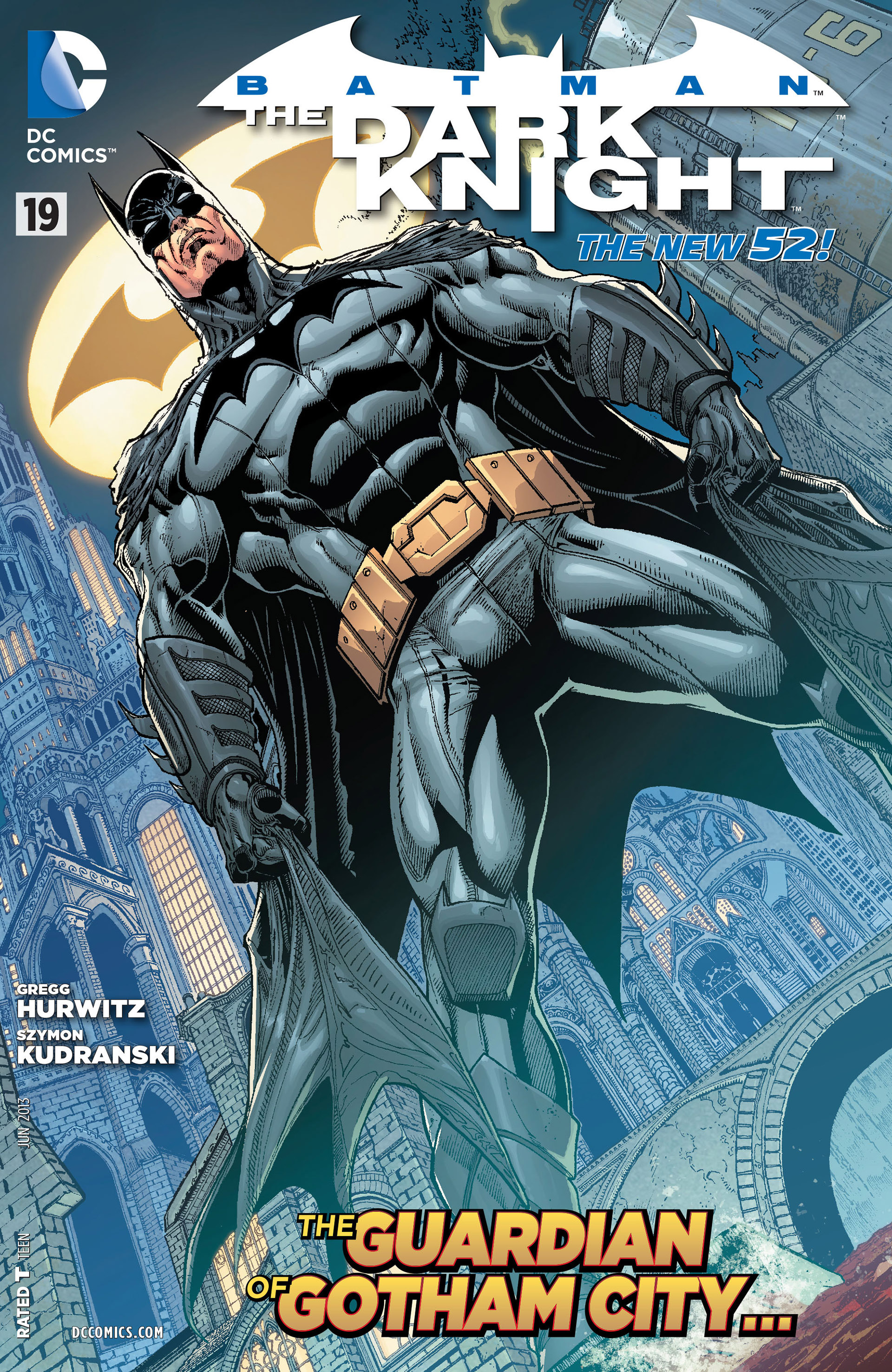 Batman: The Dark Knight [II] (2011) 19 Page 1