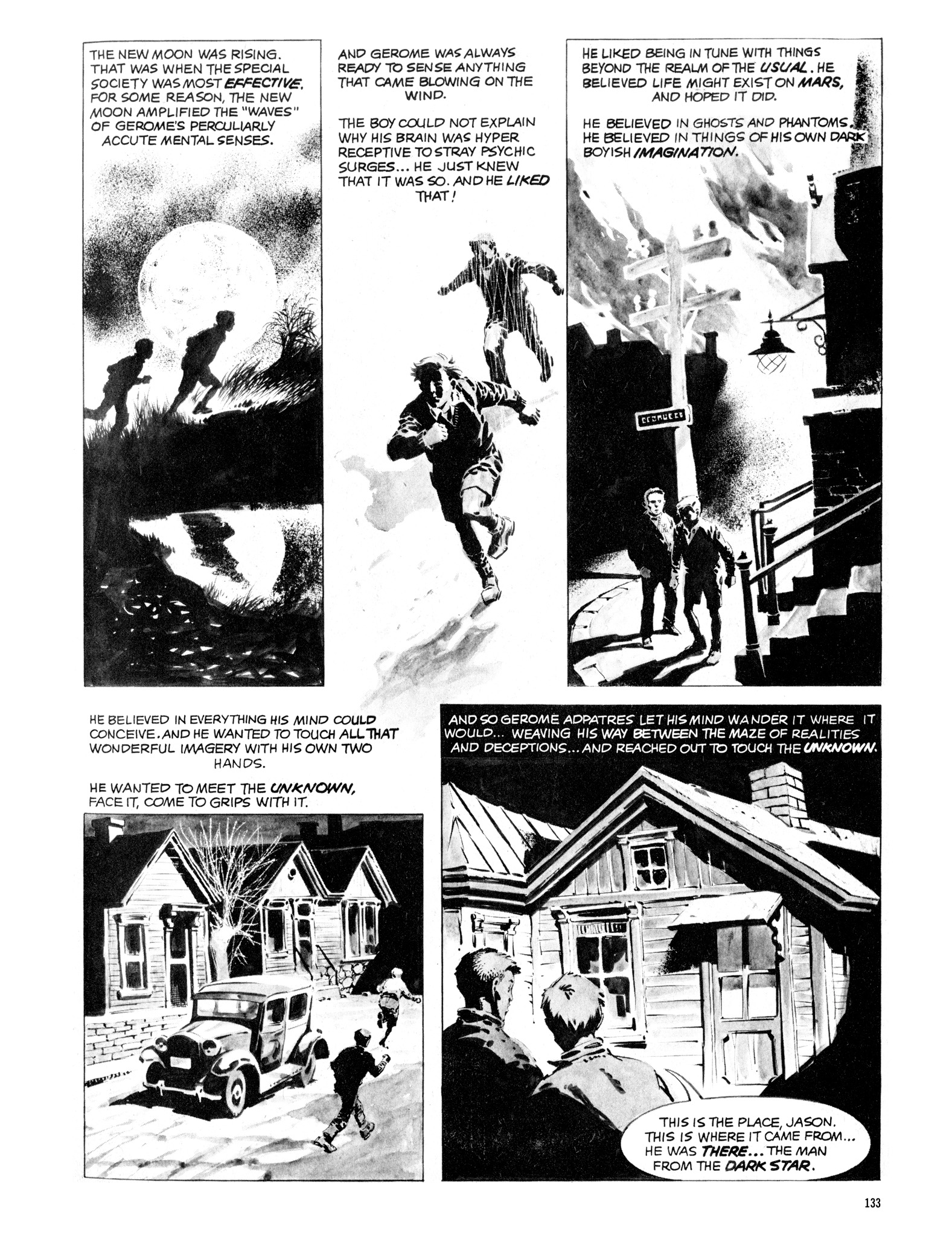 Read online Eerie Archives comic -  Issue # TPB 16 - 134
