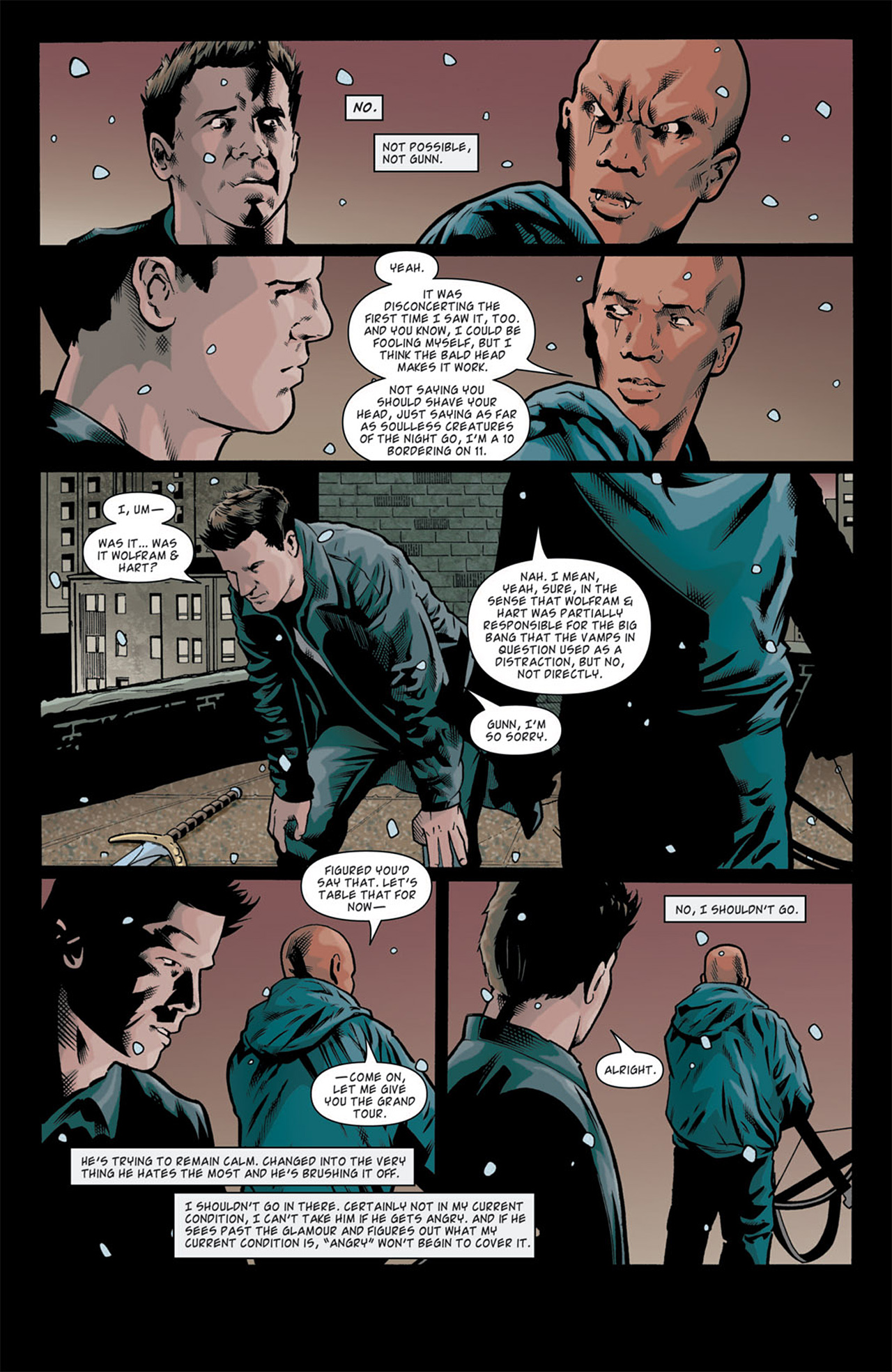 Read online Angel: After The Fall comic -  Issue #11 - 7