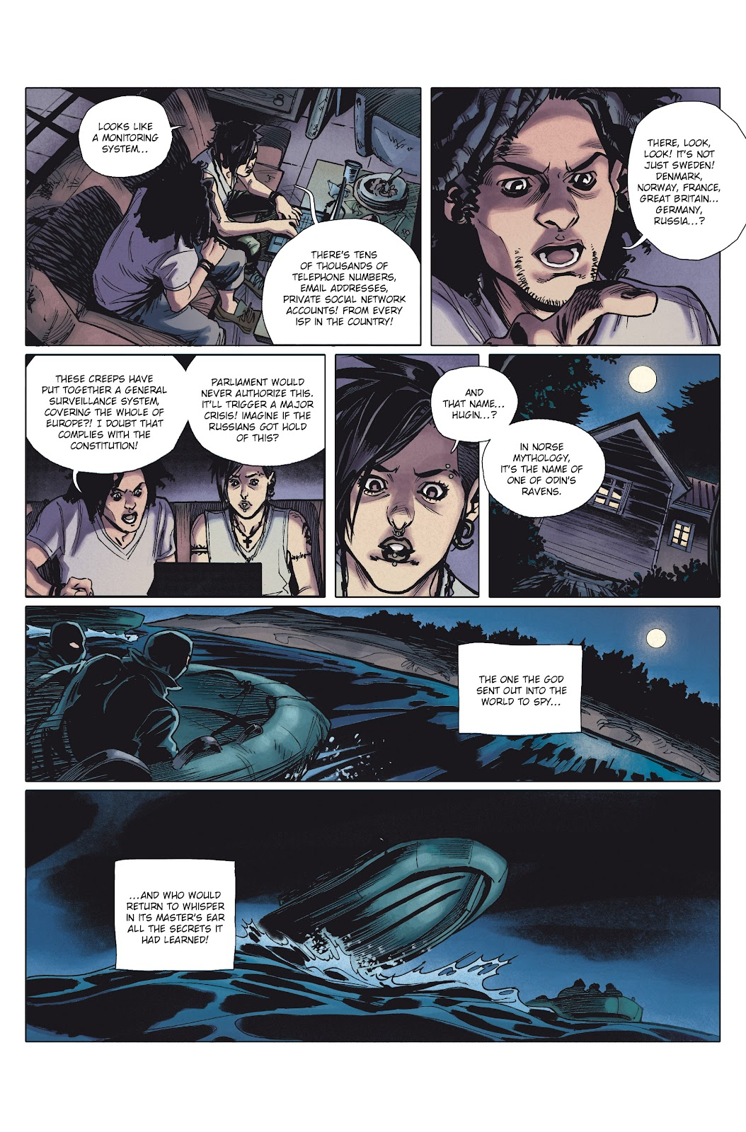 Read online Millennium: The Girl Who Danced With Death comic -  Issue #1 - 35