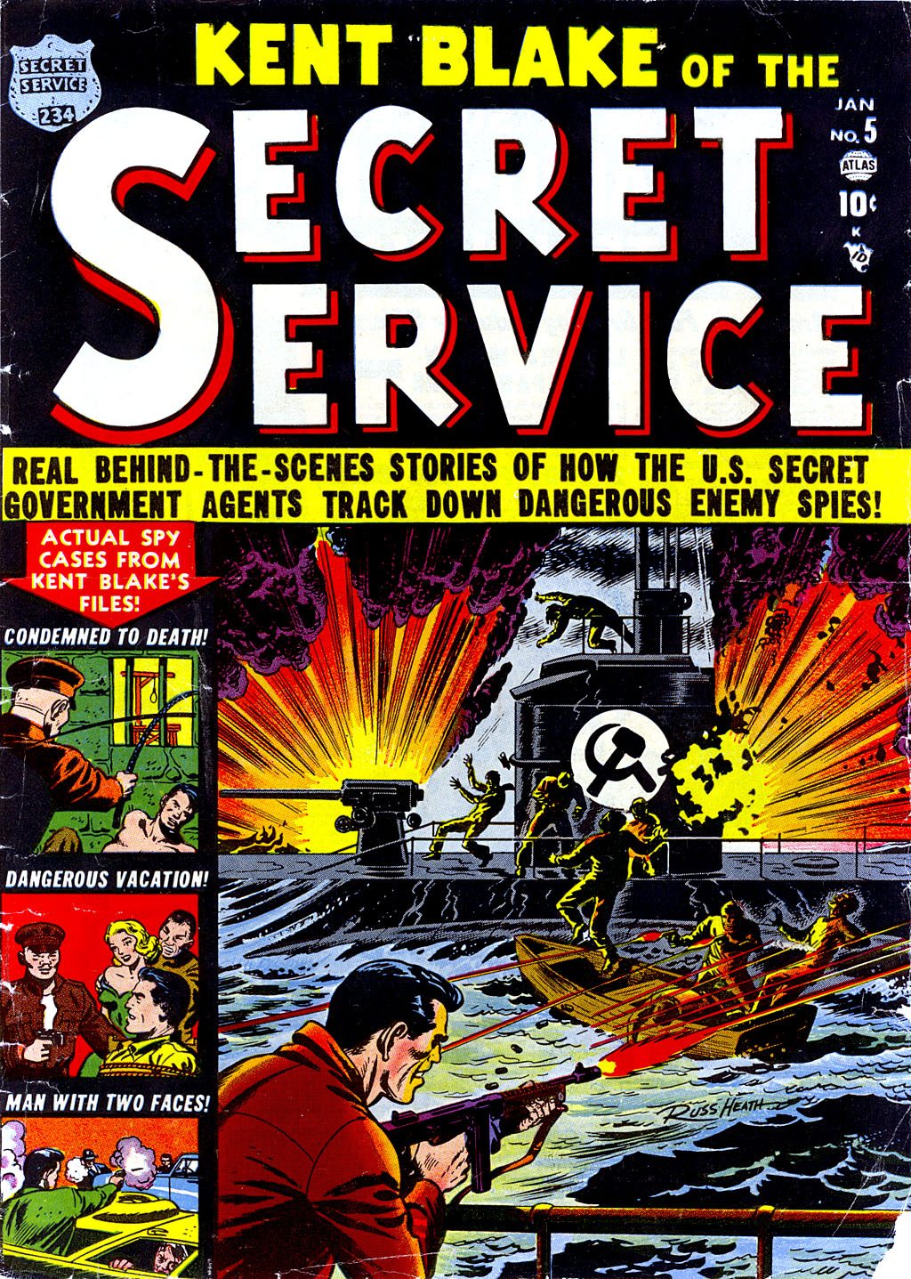 Kent Blake of the Secret Service 5 Page 1