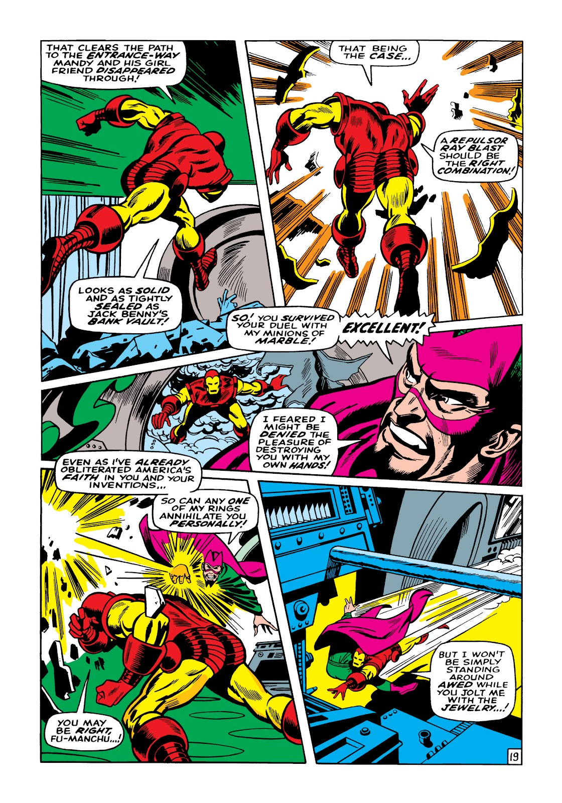 Read online Marvel Masterworks: The Invincible Iron Man comic -  Issue # TPB 5 (Part 2) - 94