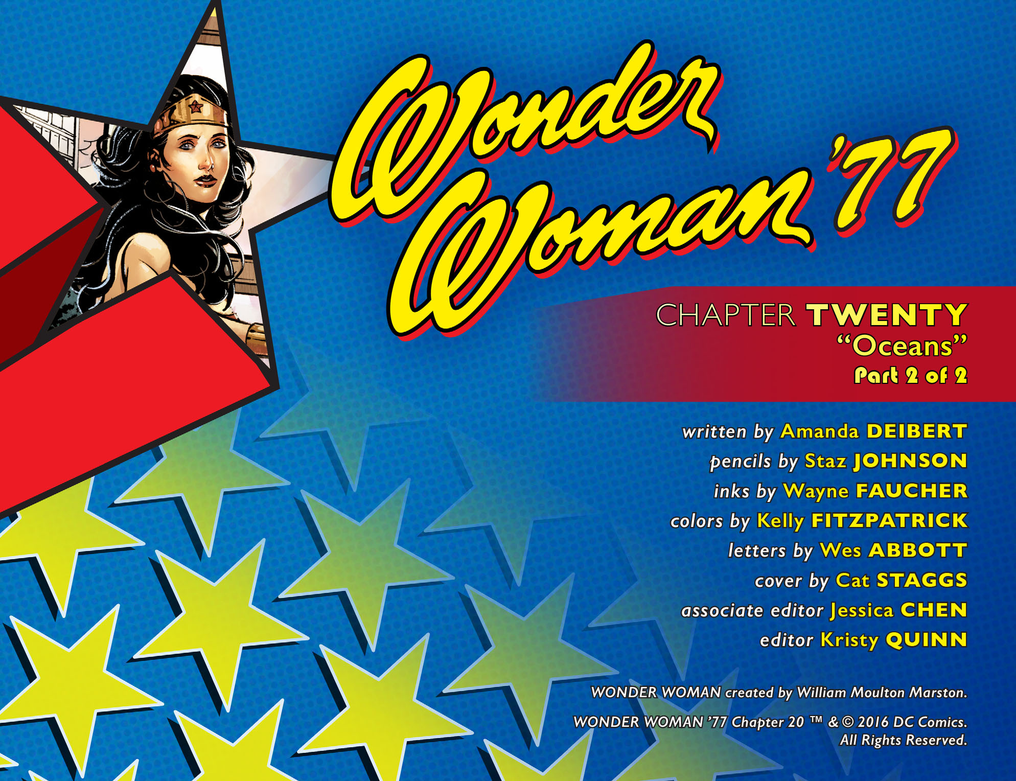 Read online Wonder Woman '77 [I] comic -  Issue #20 - 2