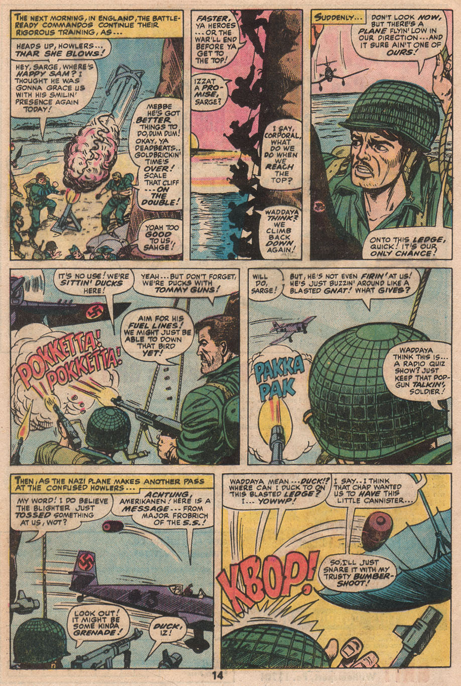 Read online Sgt. Fury comic -  Issue #133 - 16