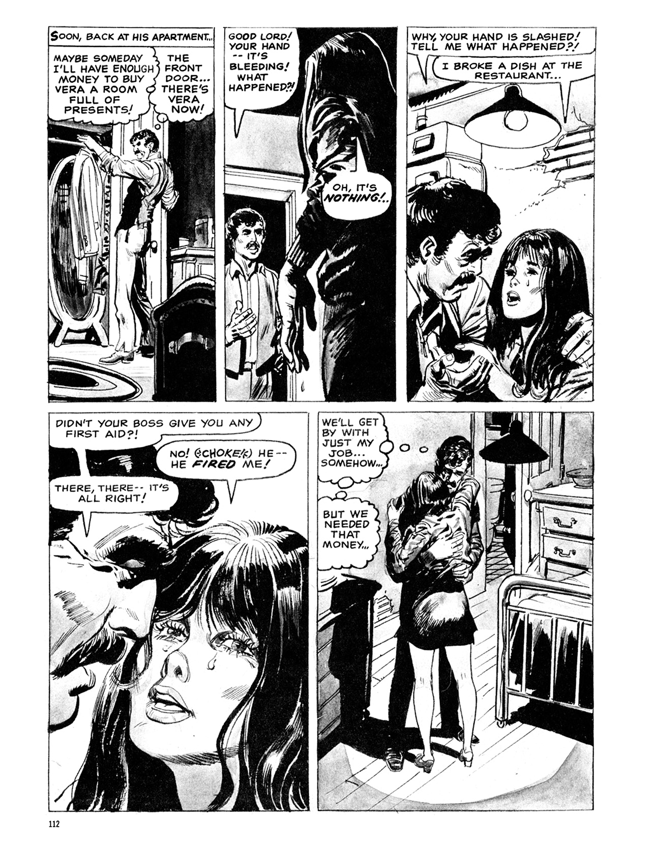 Read online Eerie Archives comic -  Issue # TPB 6 - 112